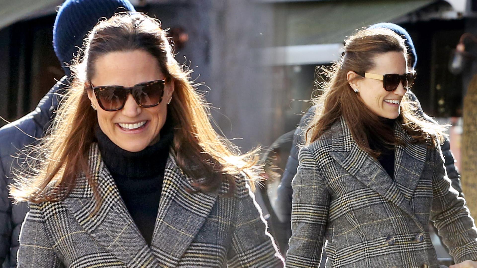 Pippa Middleton jest w drugiej ciąży. Mamy jej zdjęcia z brzuszkiem! (ZDJĘCIA)