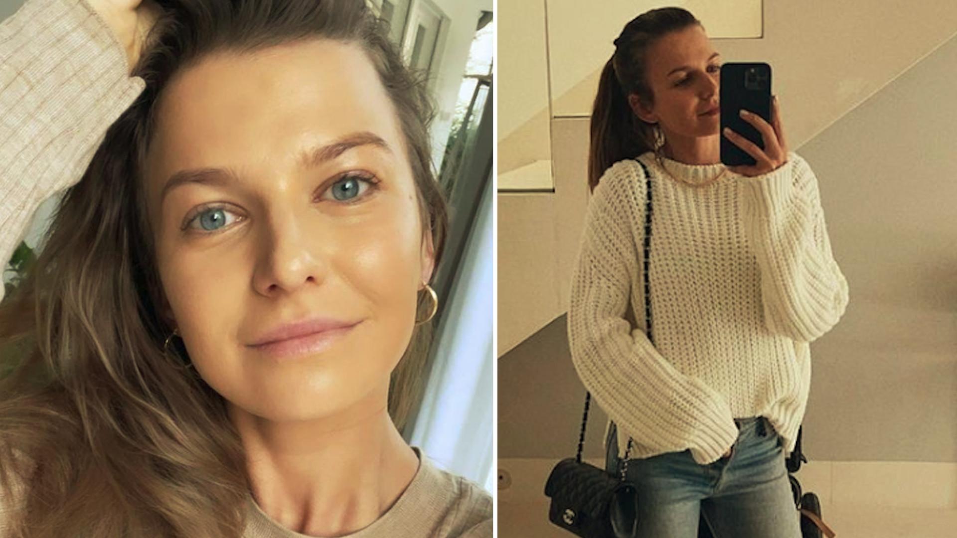 Anna Lewandowska przemawia do fanów po raz pierwszy z ŁÓŻKA