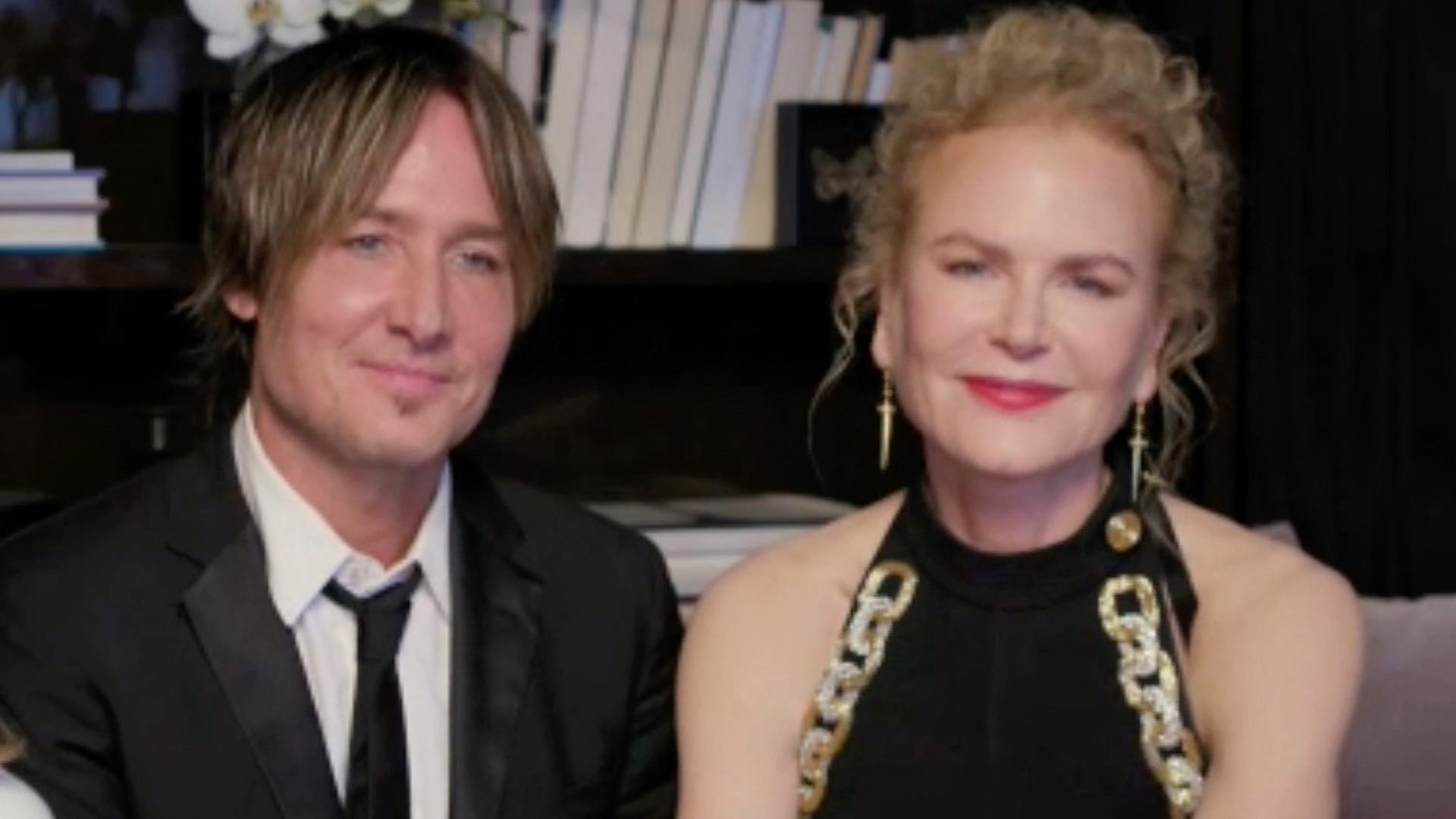 Nicole Kidman pokazała swoje CÓRKI podczas Złotych Globów. To naprawdę rzadkość
