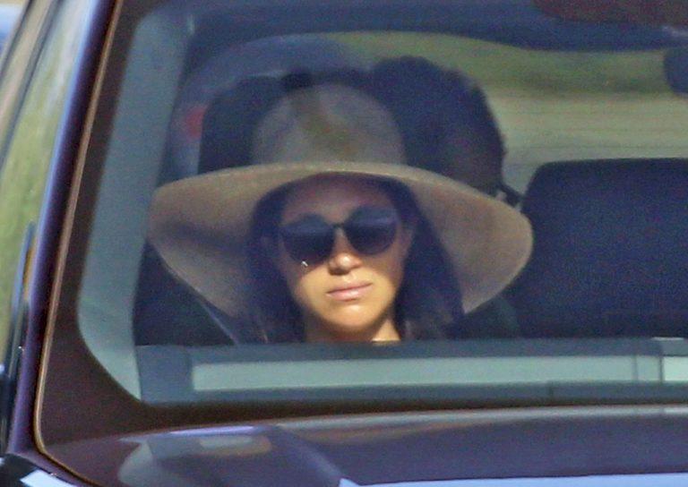 Meghan Markle w samochodzie