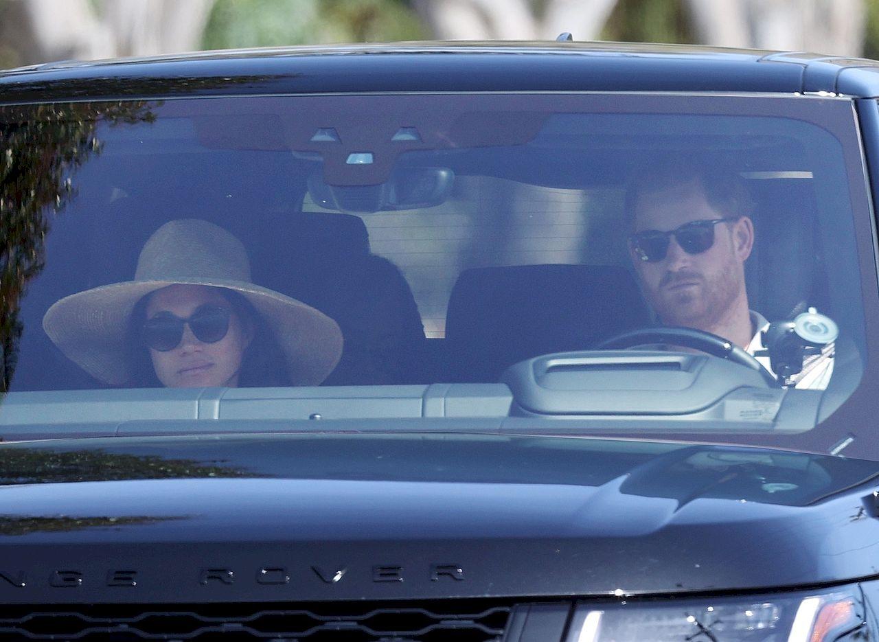Meghan Markle i książę Harry w Santa Barbara