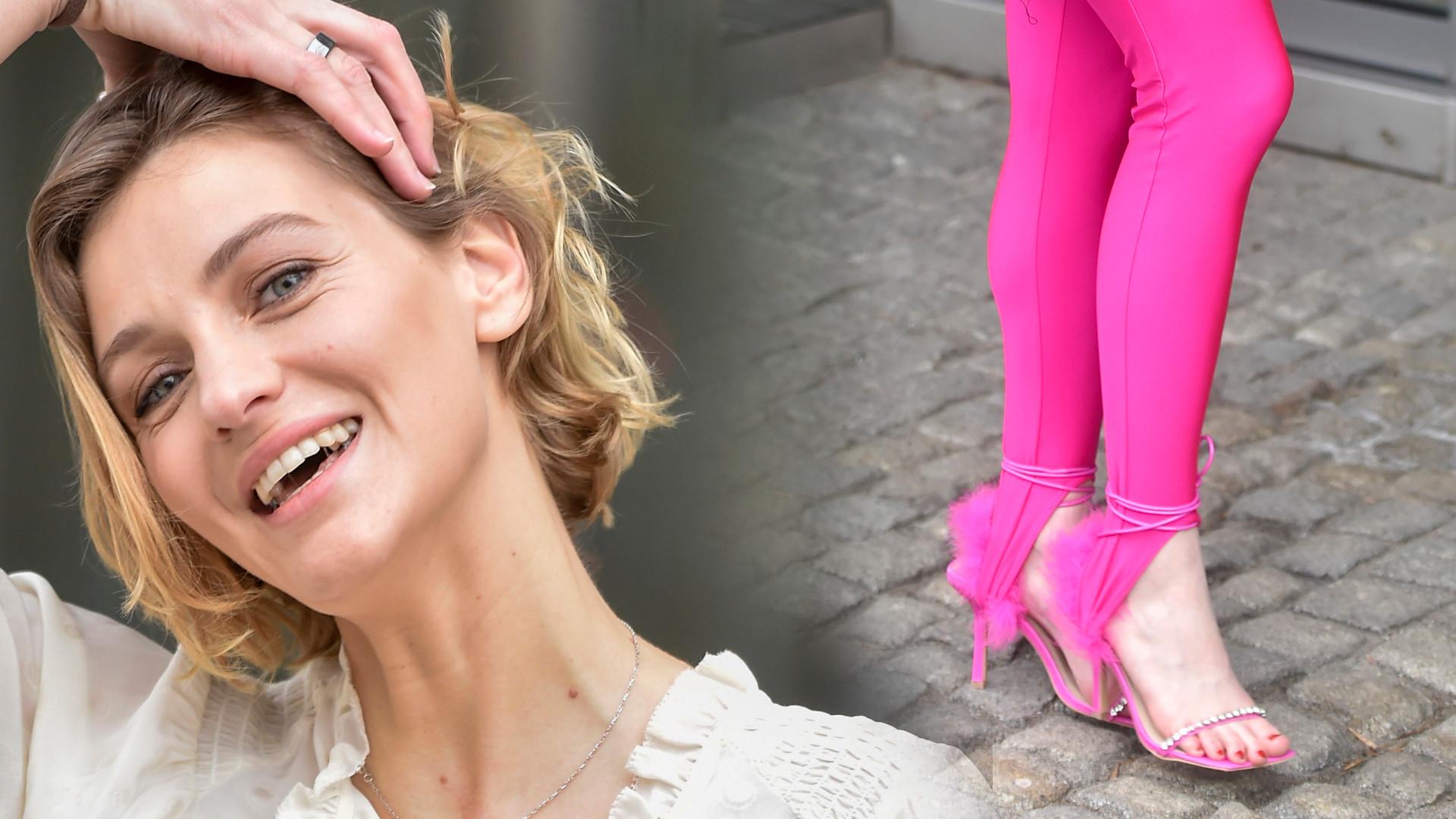Gwiazdy DD TVN: Uśmiechnięta Renata Kaczoruk, piosenkarka w różowych legginsach (ZDJĘCIA)