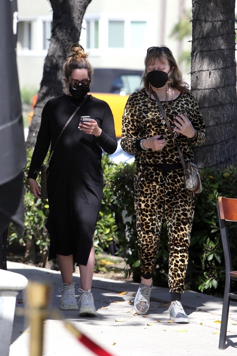 Ashley Tisdale przed porodem