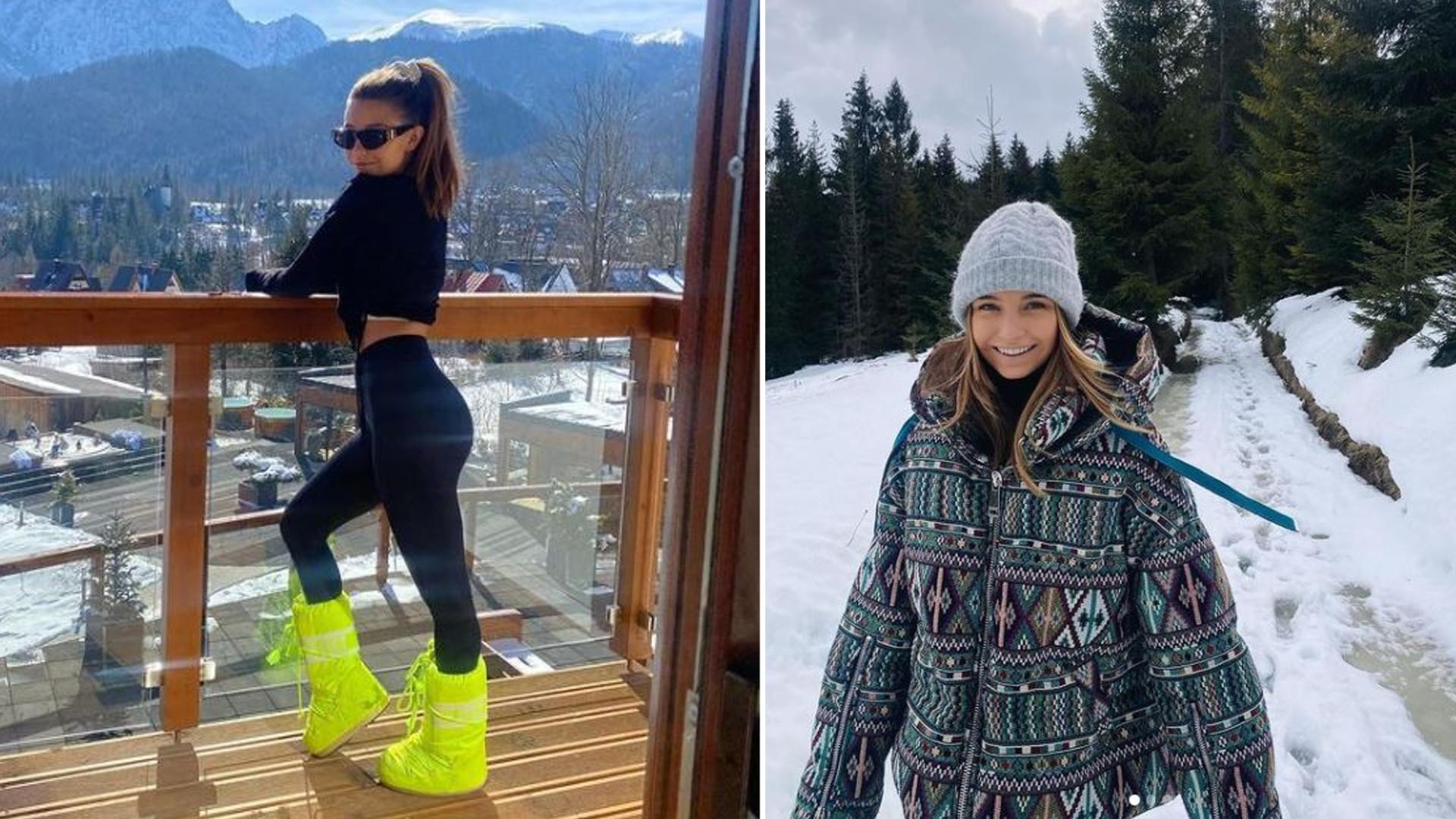 Julia Wieniawa z dumą prezentuje kobiece wdzięki na tle gór. Pokazała się w kusym stroju kąpielowym
