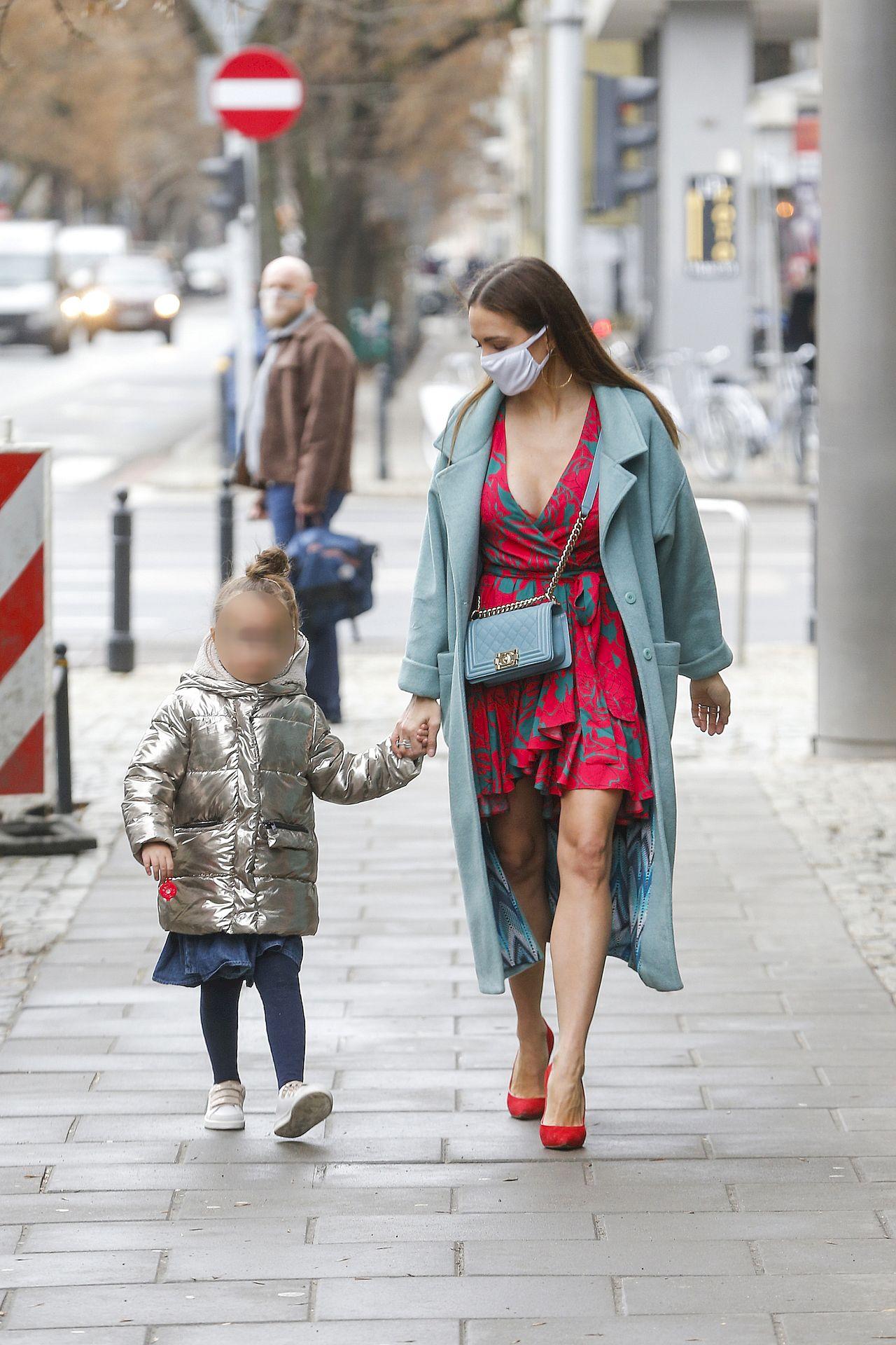Anna Wendzikowska z córką Kornelią