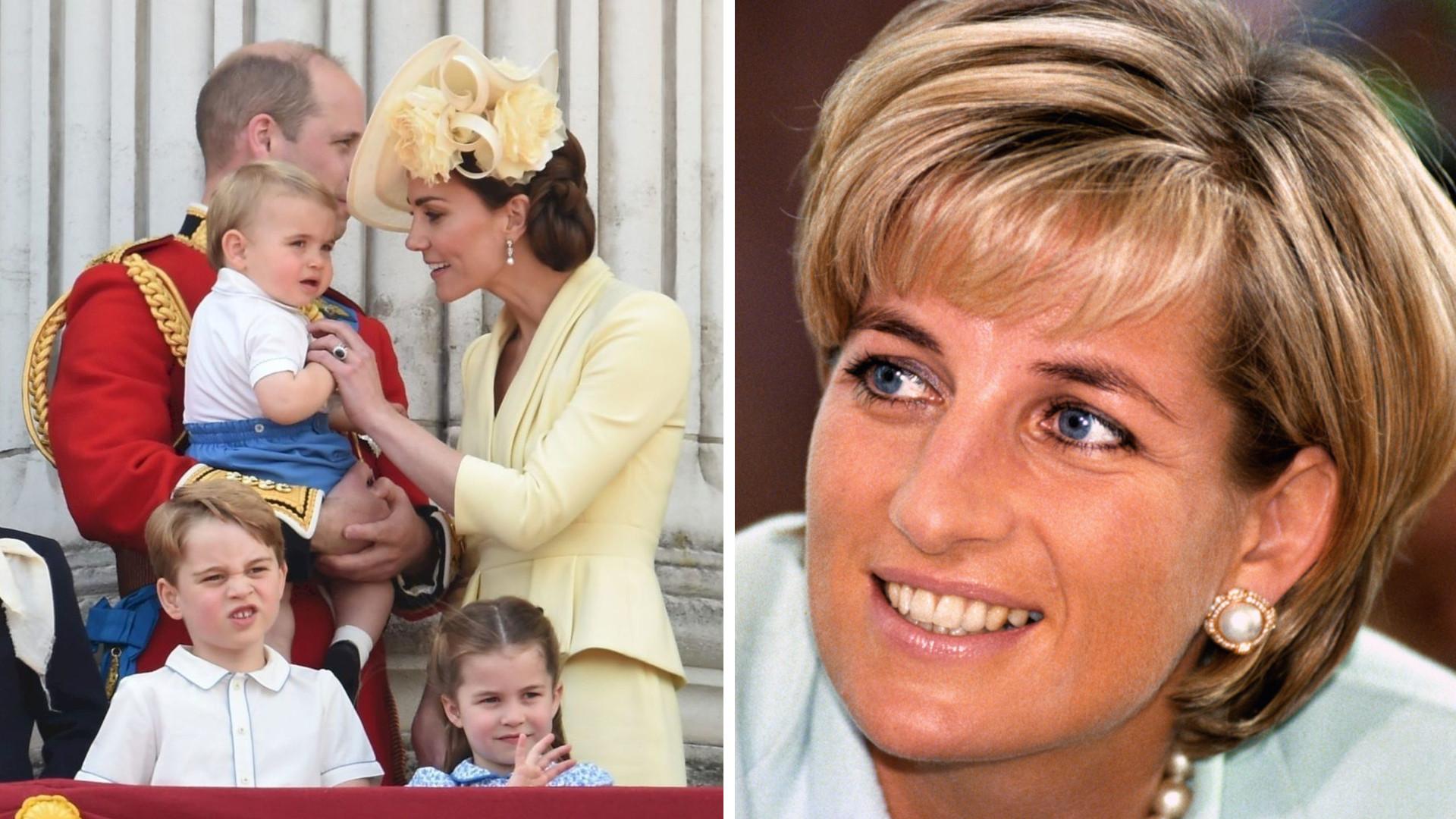 Dzieci Kate Middleton napisały LISTY do zmarłej lady Di. Wzruszający gest