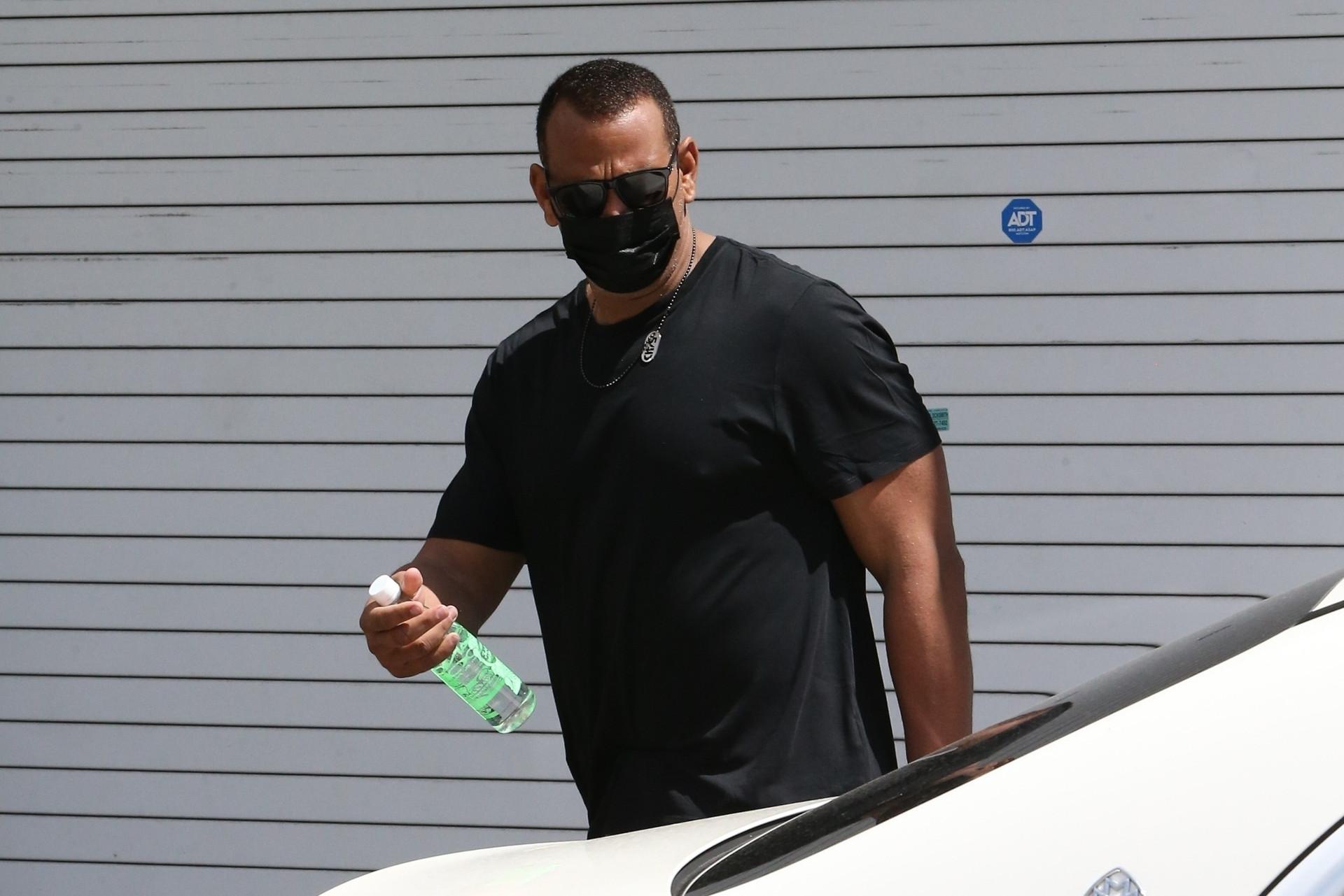 Alex Rodriguez w drodze na siłownię, fot. The Mega Agency / BACKGRID / Backgrid USA / Forum