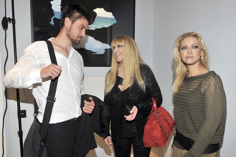 Jan Jasiński, Maryla Rodowicz i Katarzyna Jasinska.