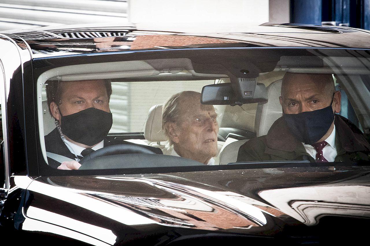 Książę Filip został przewieziony do Zamku Windsor