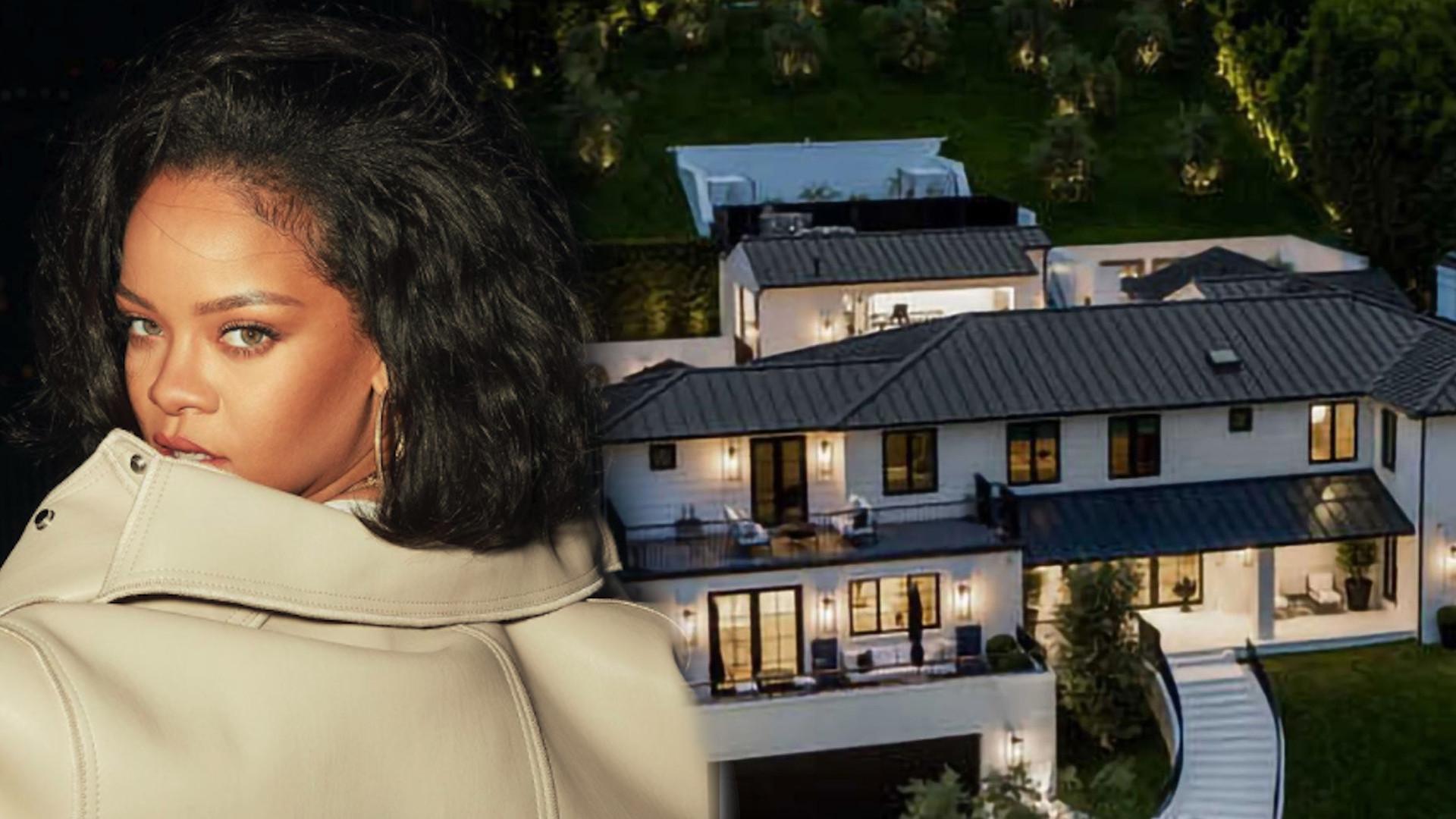 Rihanna zakupiła kolejną posiadłość. Czego tam nie ma! Wnętrza powalają na kolana (ZDJĘCIA)