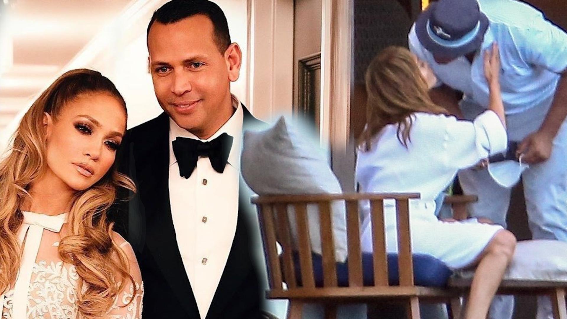 Jennifer Lopez w objęciach Alexa Rodrigueza. Rozumiecie coś z tego? (ZDJĘCIA)