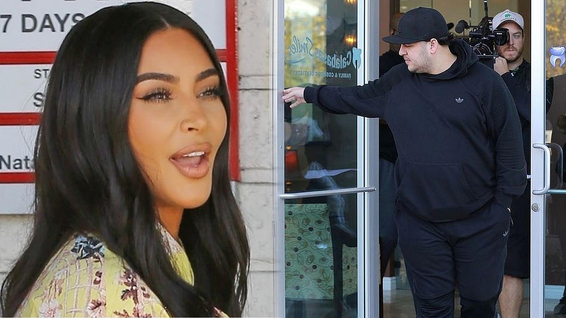 Odchudzony Rob Kardashian świętował urodziny. Kim pokazała jego zdjęcie
