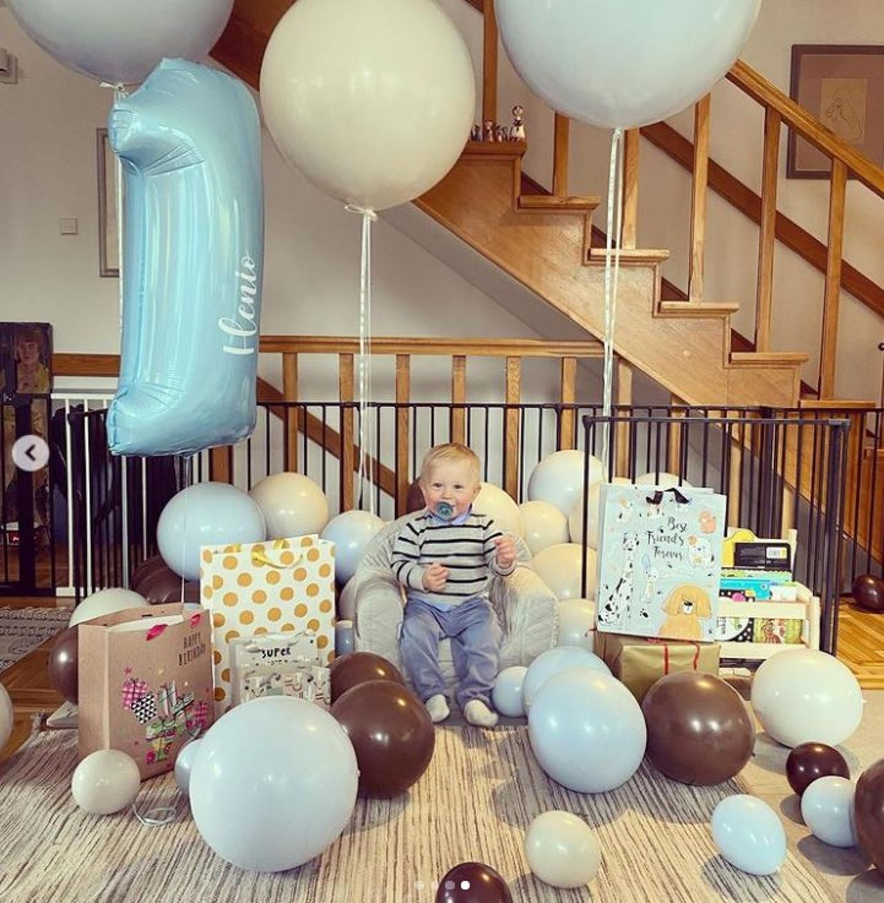 Impreza urodzinowa syna Borysa Szyca.