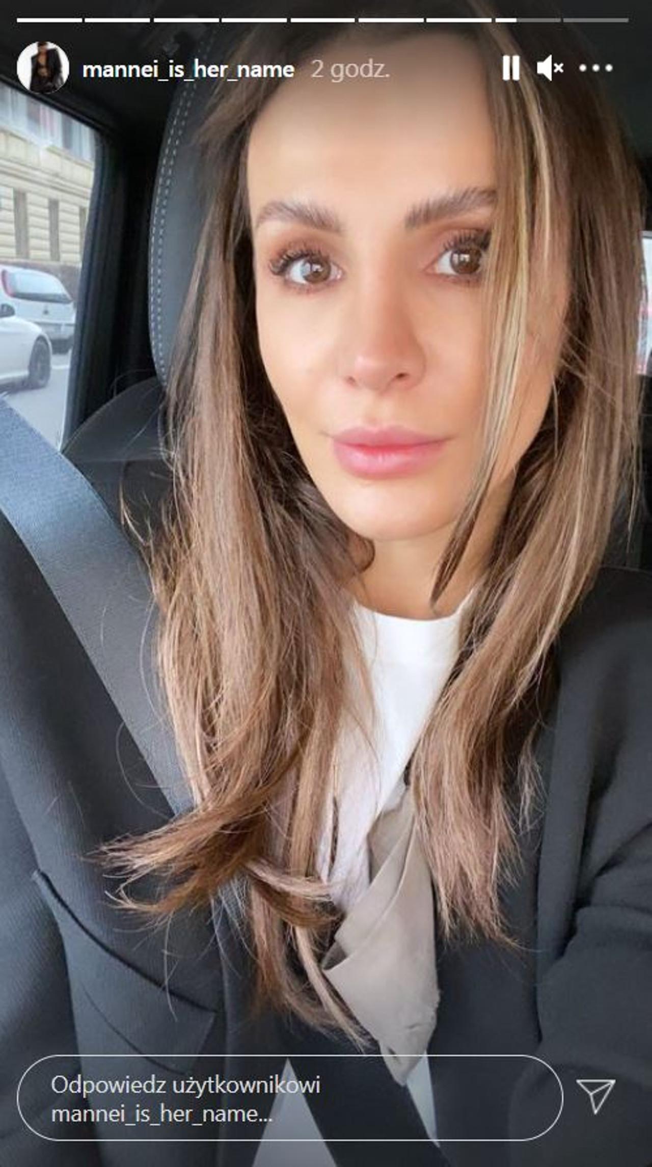 Codzienny makijaż Sary Boruc.