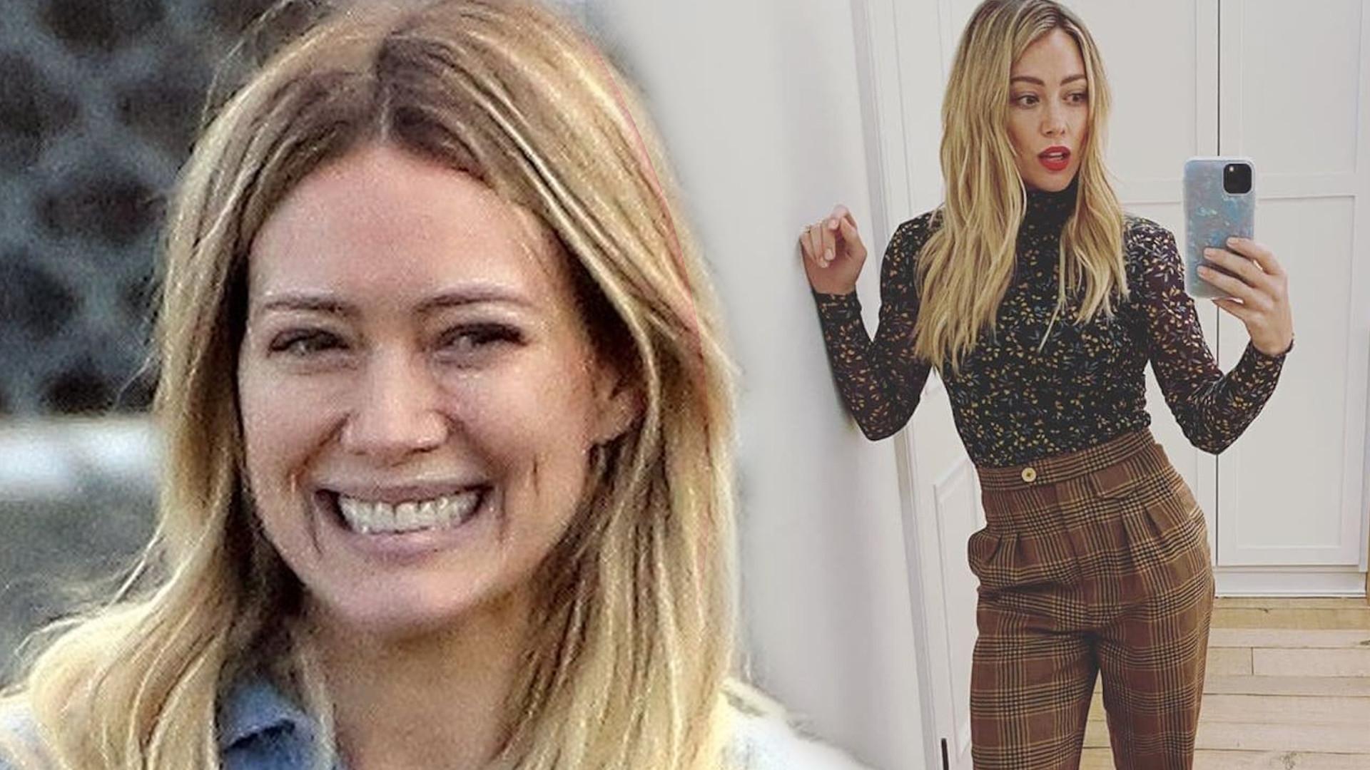 Ciężarna Hilary Duff zmieniła kolor włosów. Co za METAMORFOZA