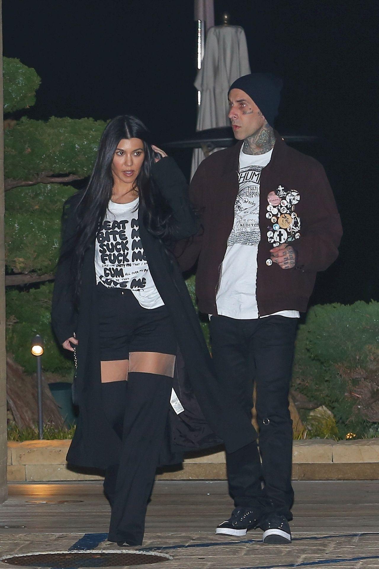 Kourtney Kardashian i Travis Barker na randce