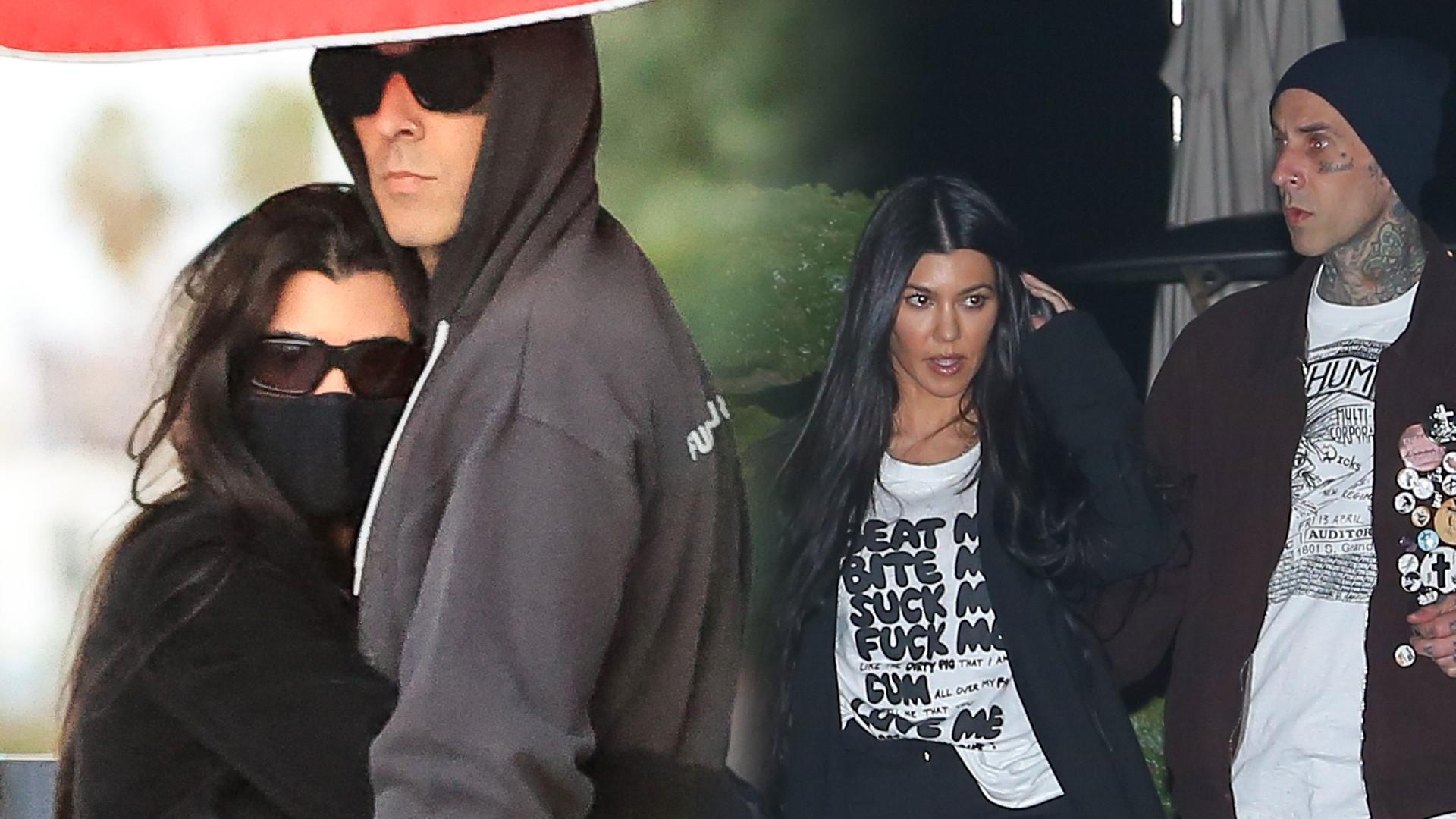 OMG! Kourtney Kardashian weźmie ŚLUB z Travisem Barkerem?