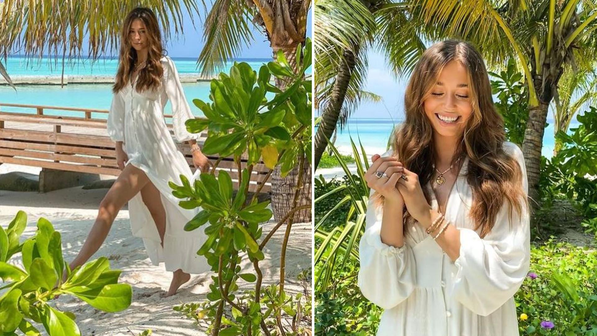 """Izabella Krzan z partnerem wypoczywa na Malediwach: """"Raj na Ziemi"""""""