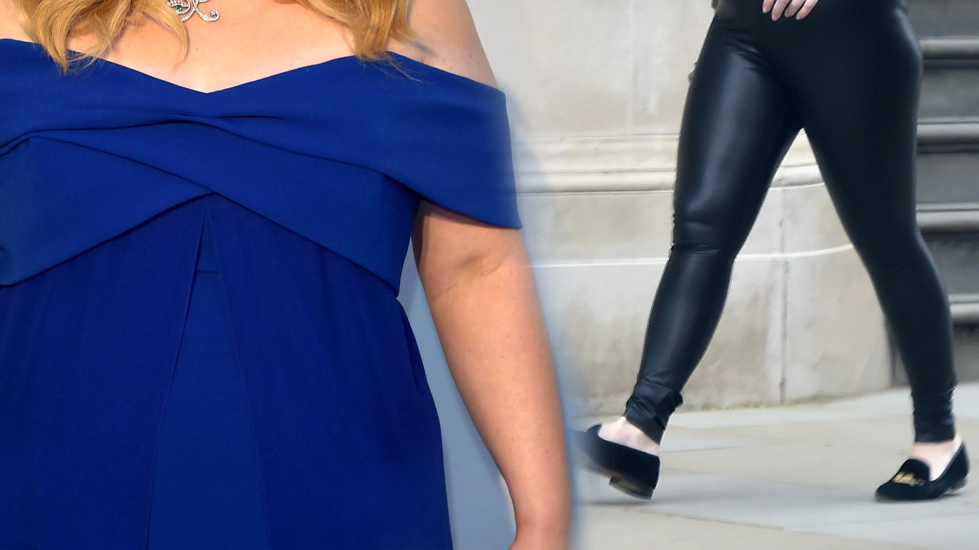 Metamorfoza godna Adele! Ta aktorka schudła 30 kg i pochwaliła się nową sylwetką w skórzanych legginsach