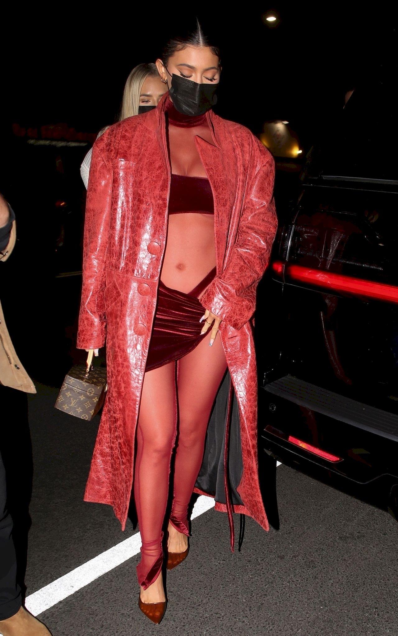 Kylie Jenner na imprezie Justina Biebera