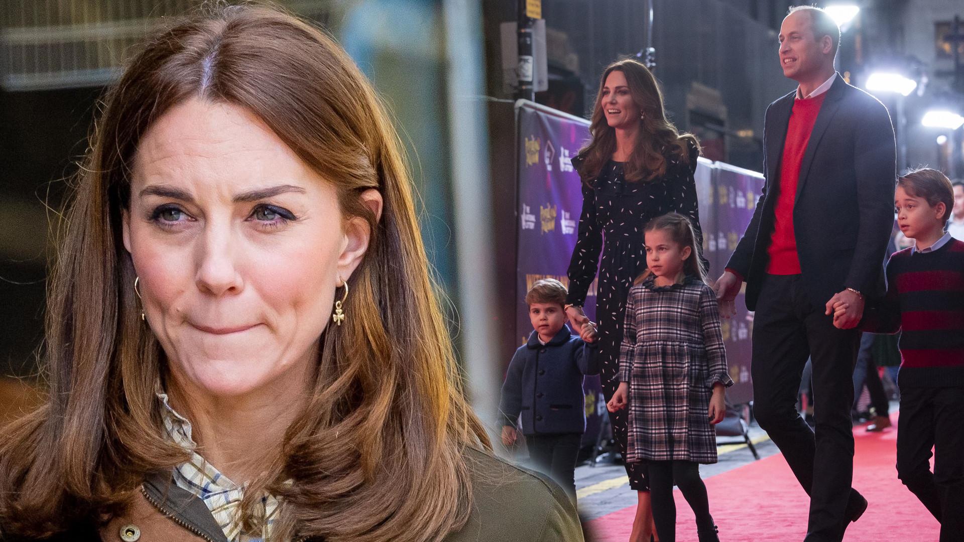 Księżna Kate musi CHRONIĆ dzieci przed Meghan i Harrym