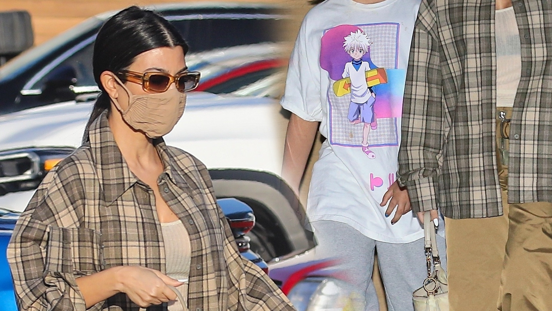 Kiedy on tak WYRÓSŁ?! Kourtney Kardashian pokazała się z nastoletnim synem Masonem (ZDJĘCIA)