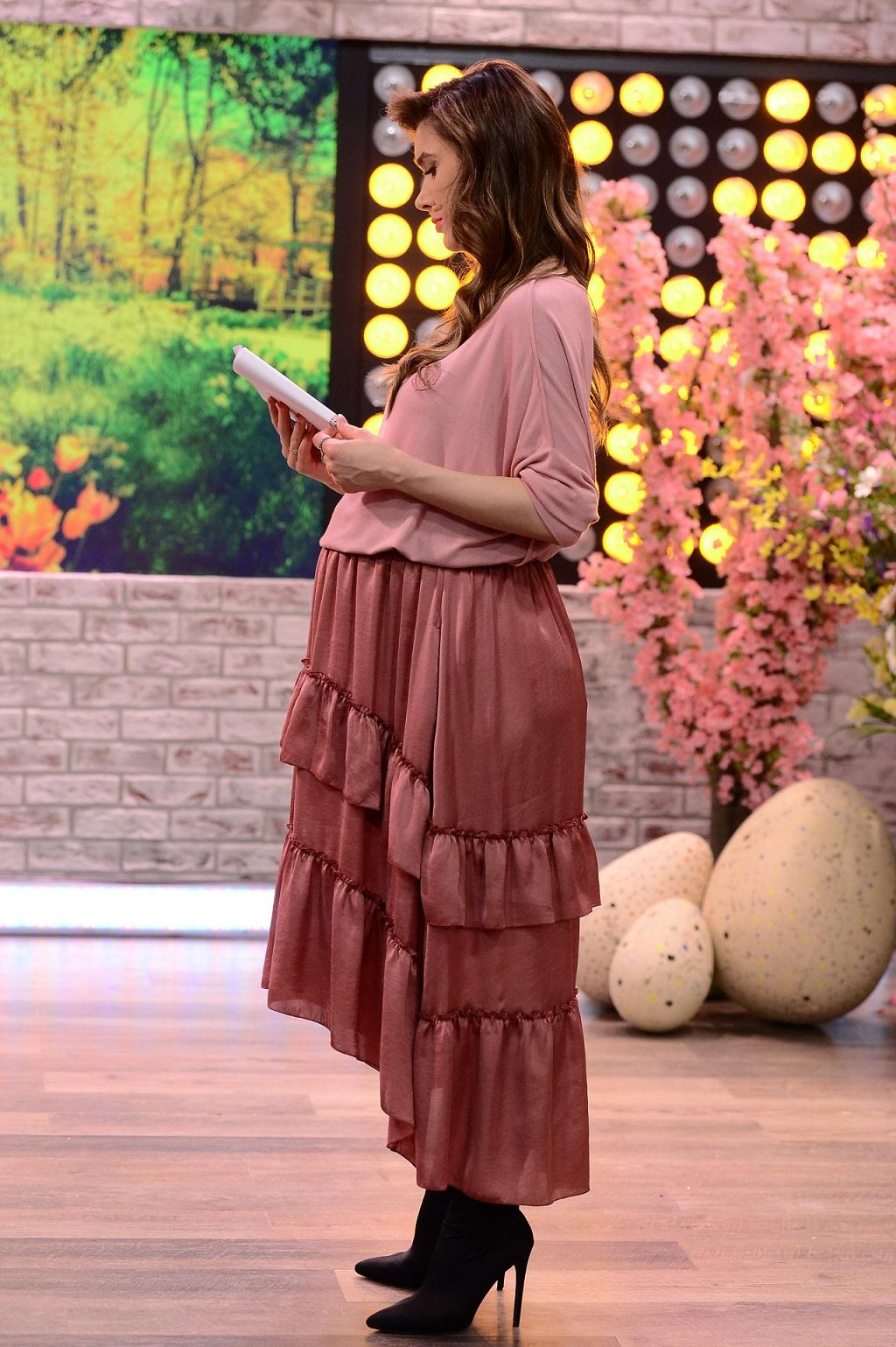 Ida Nowakowska pokazała brzuch w zaawansowanej ciąży.