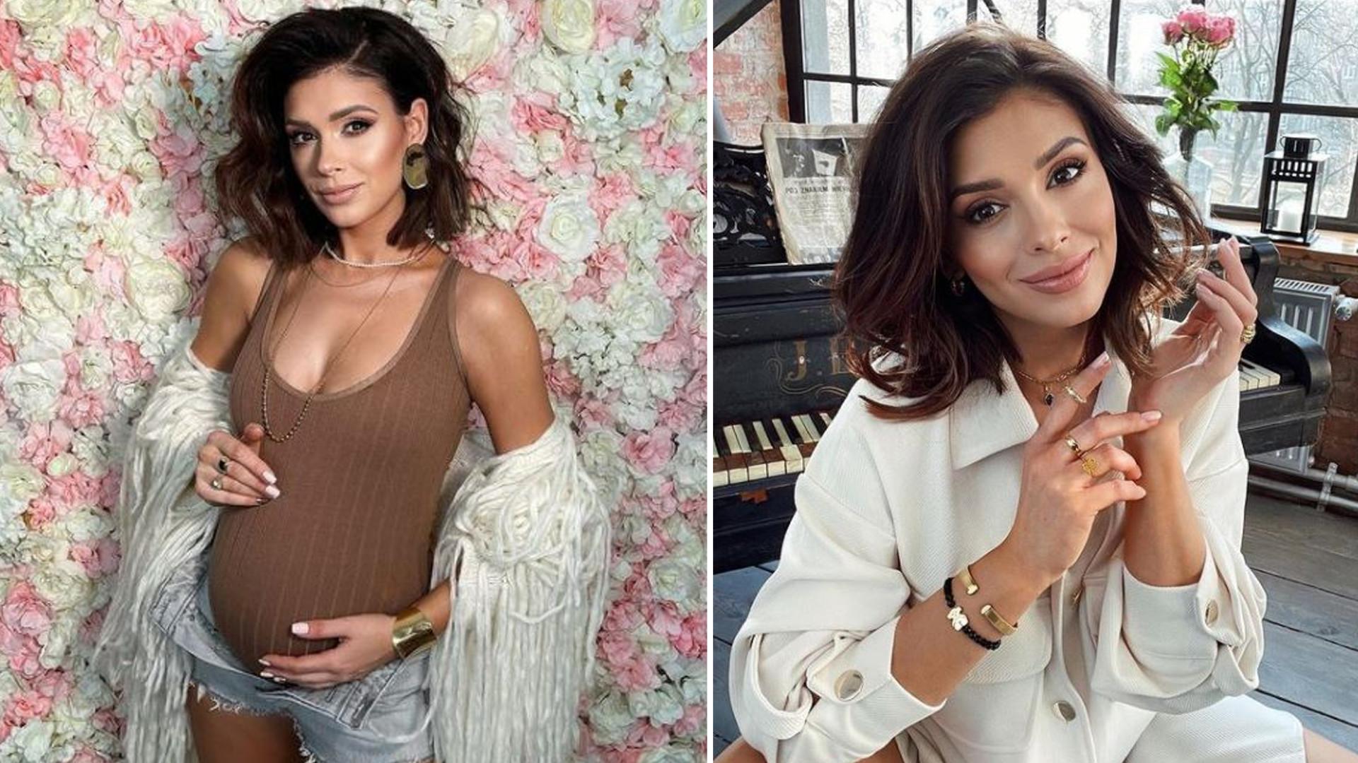 """Klaudia Halejcio TOPLESS w 30. tygodniu ciąży: """"Piękna mamusia"""""""