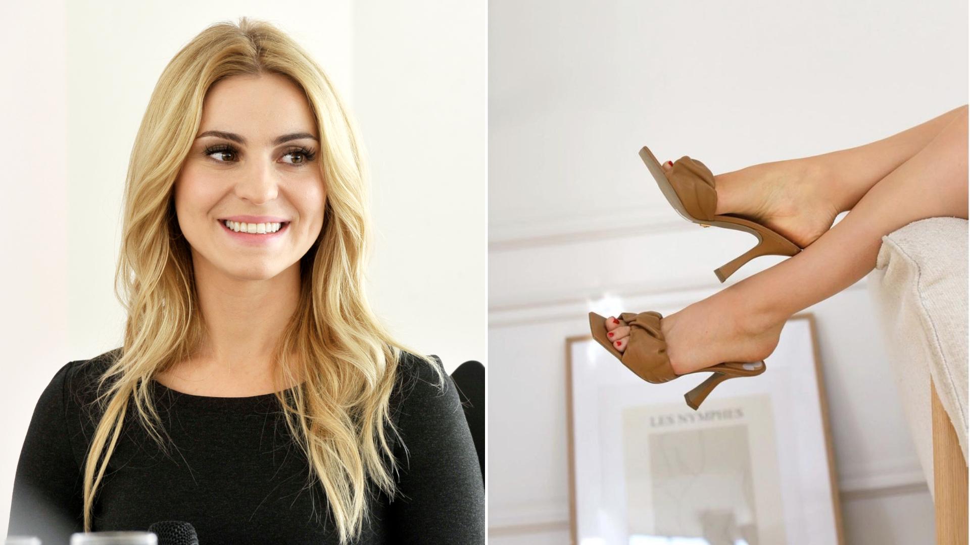 Kasia Tusk zaprezentowała ulubione buty na specjalne okazje. To słynna polska marka!