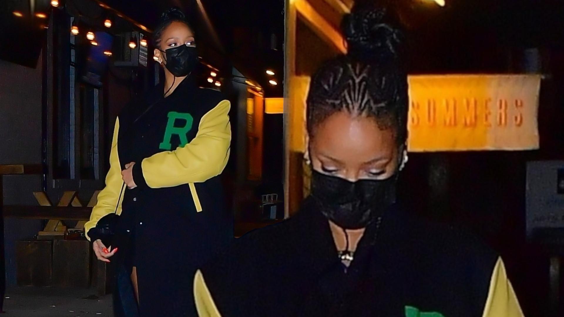 OMG! Stylowa Rihanna na kolacji z A$AP Rockym. Złamała ważny zakaz