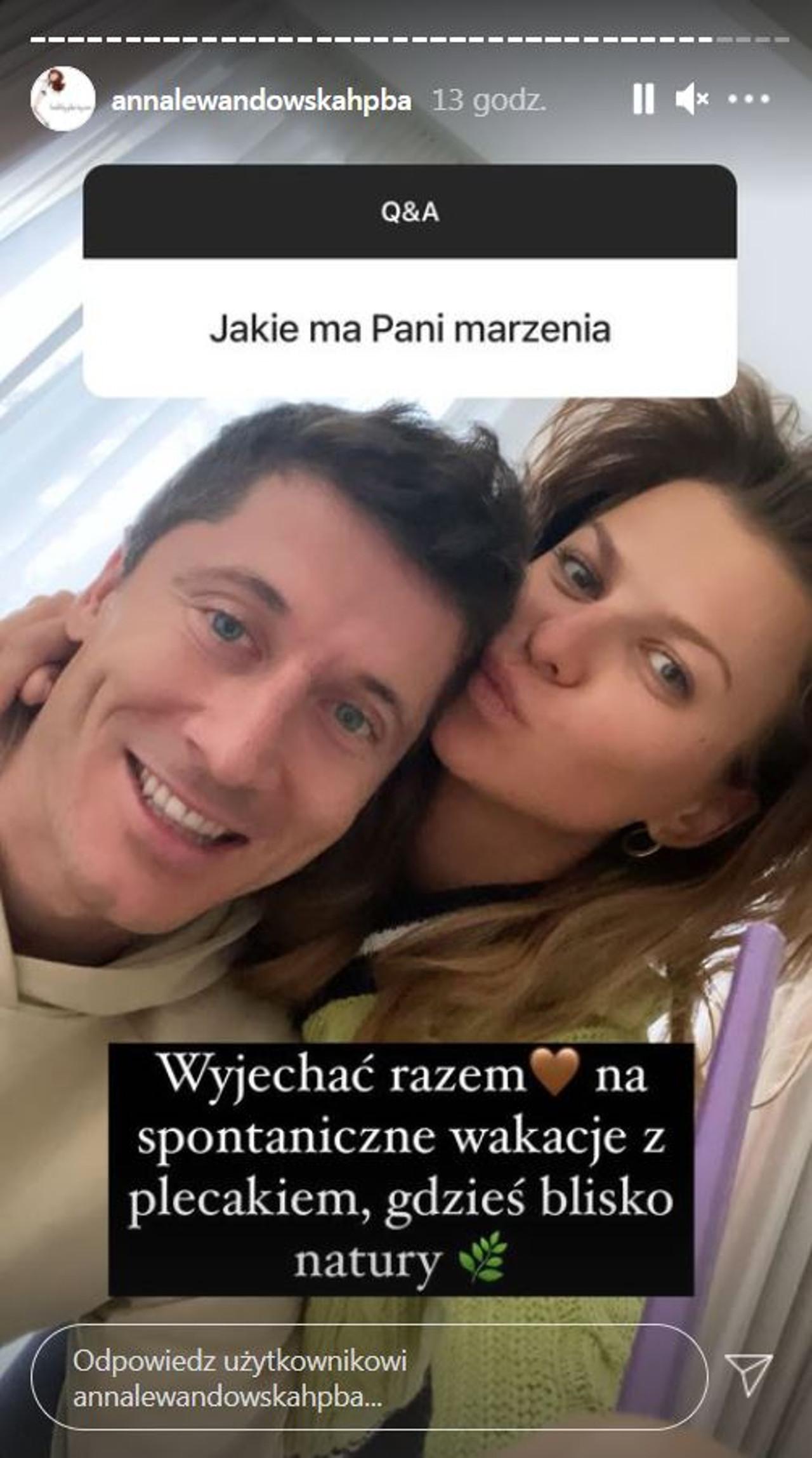 Anna Lewandowska zdradziła, jakie ma marzenie.