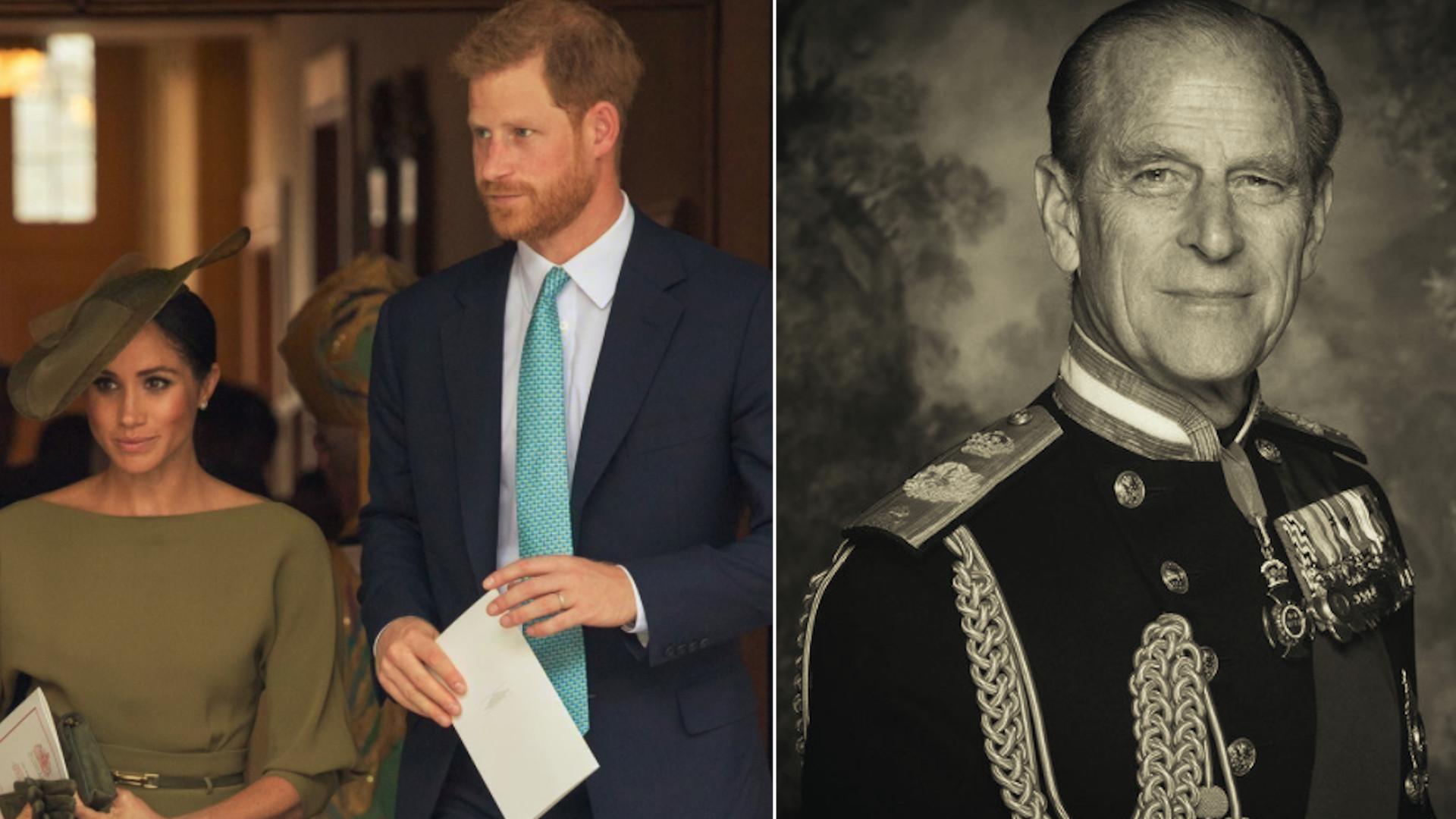 Meghan i Harry pożegnali księcia Filipa.Wydali oświadczenie