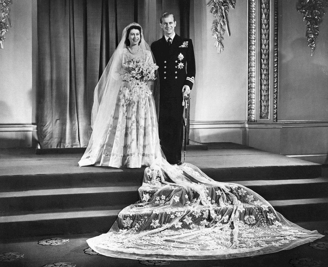Ślub królowej Elżbiety i księcia Filipa