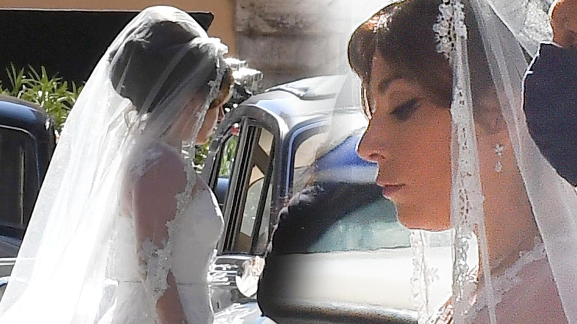 Lady Gaga w sukni ślubnej. Wygląda przepięknie! (ZDJĘCIA)