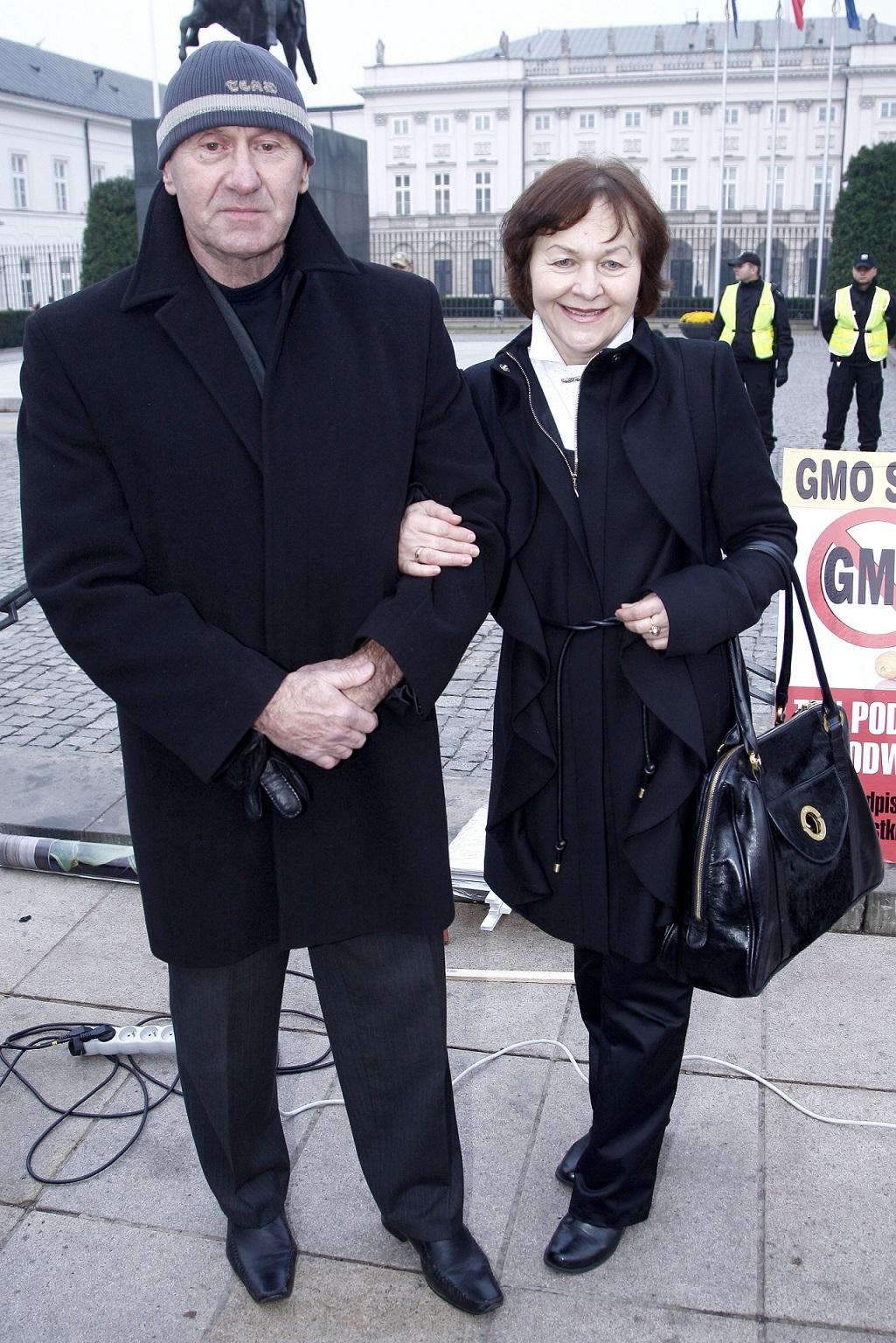 Rodzice Dody - Wanda i Paweł Rabczewski.