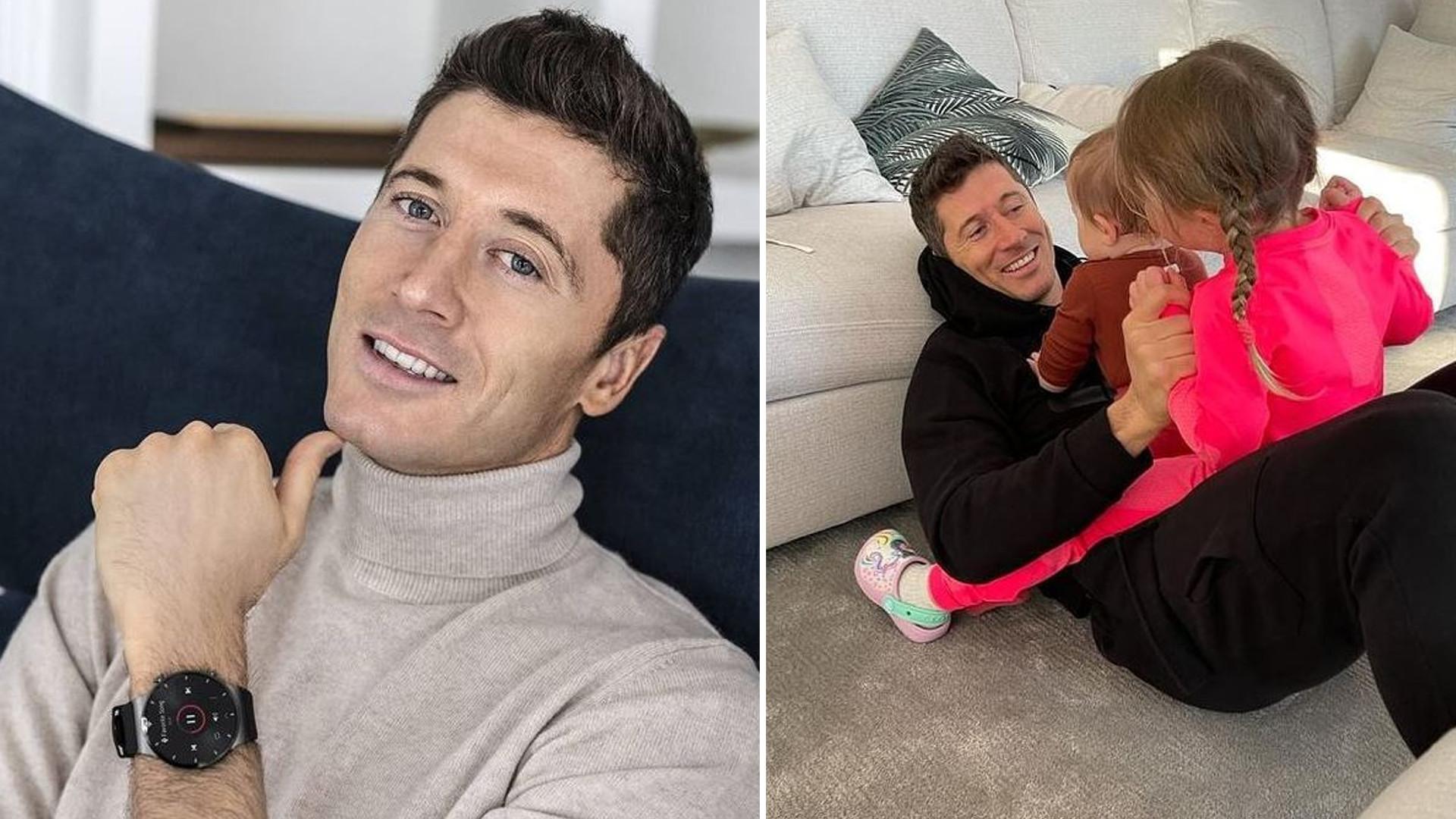Robert Lewandowski jest dumny z córki. Pochwalił się, jaki talent ma Klara