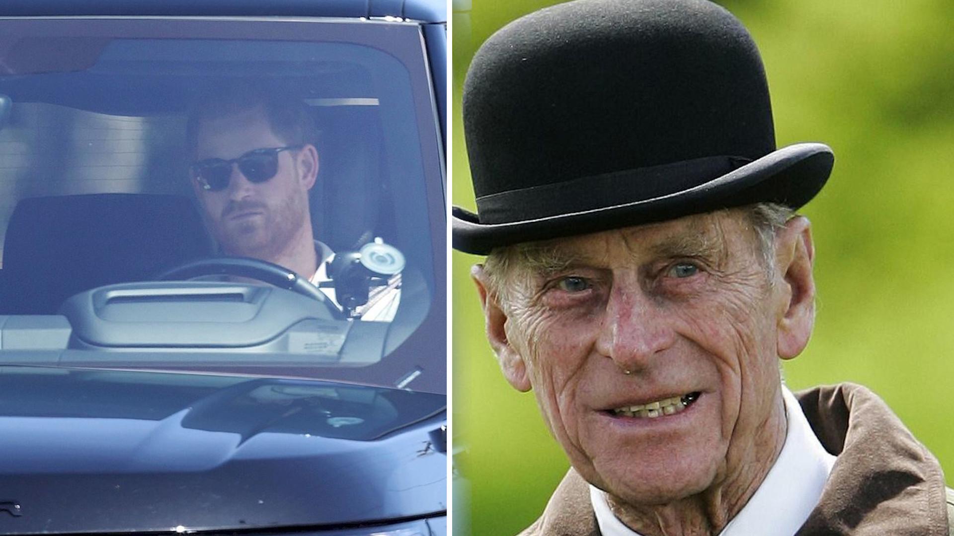Książę Harry już w Londynie!
