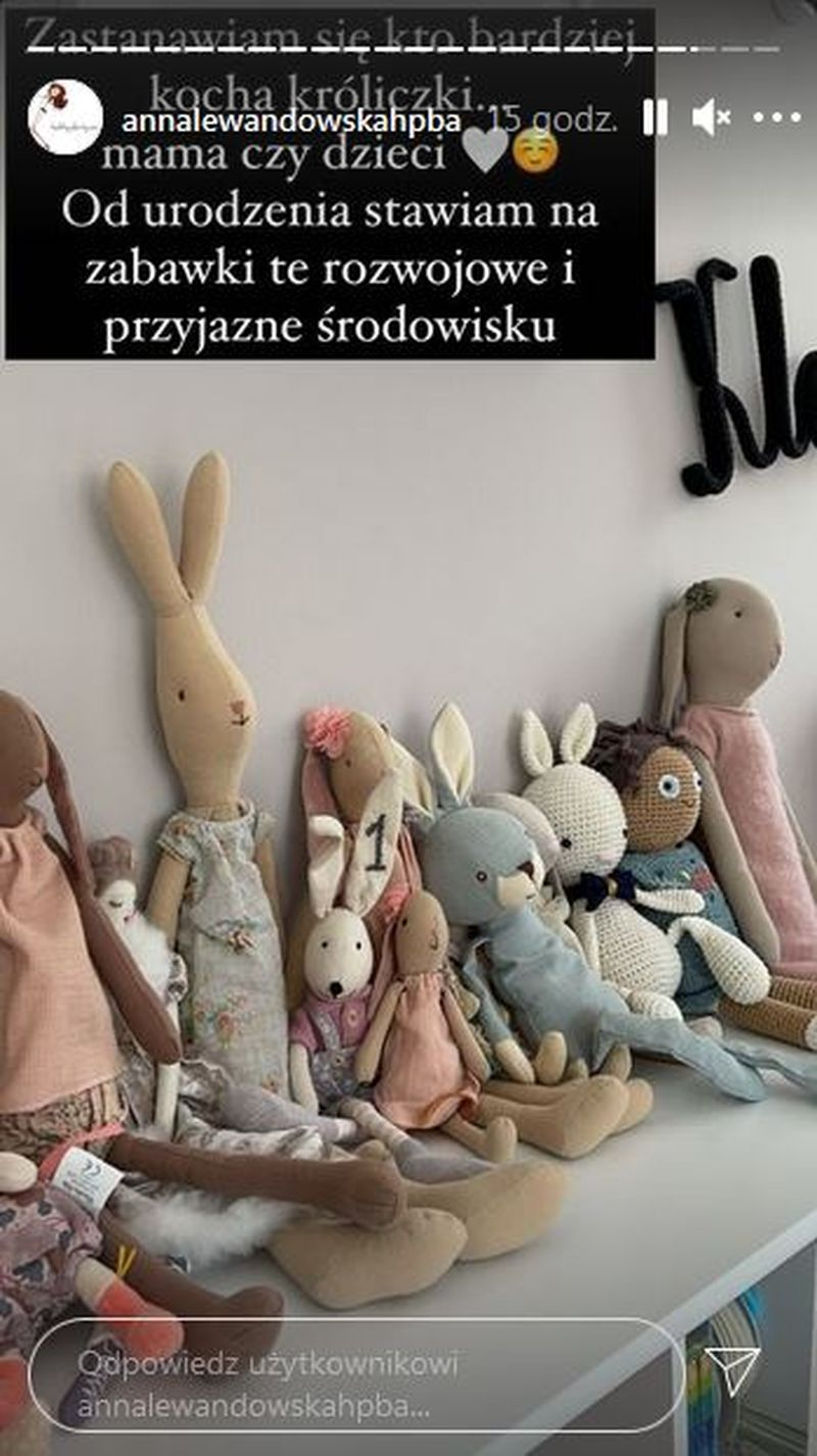 Anna Lewandowska pokazała dziecięcy pokoik