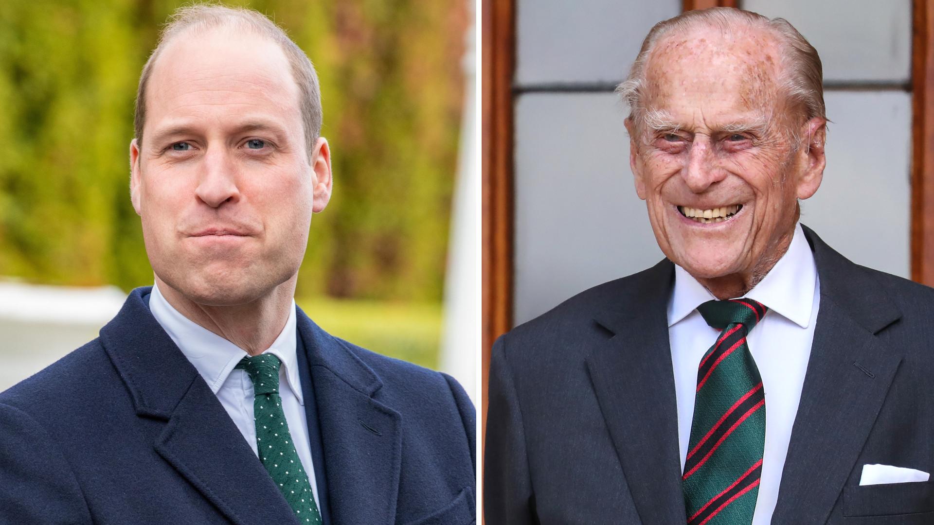 """Książę William ŻEGNA księcia Filipa we wzruszającym poście: """"Jego łobuzerskie poczucie humoru"""""""