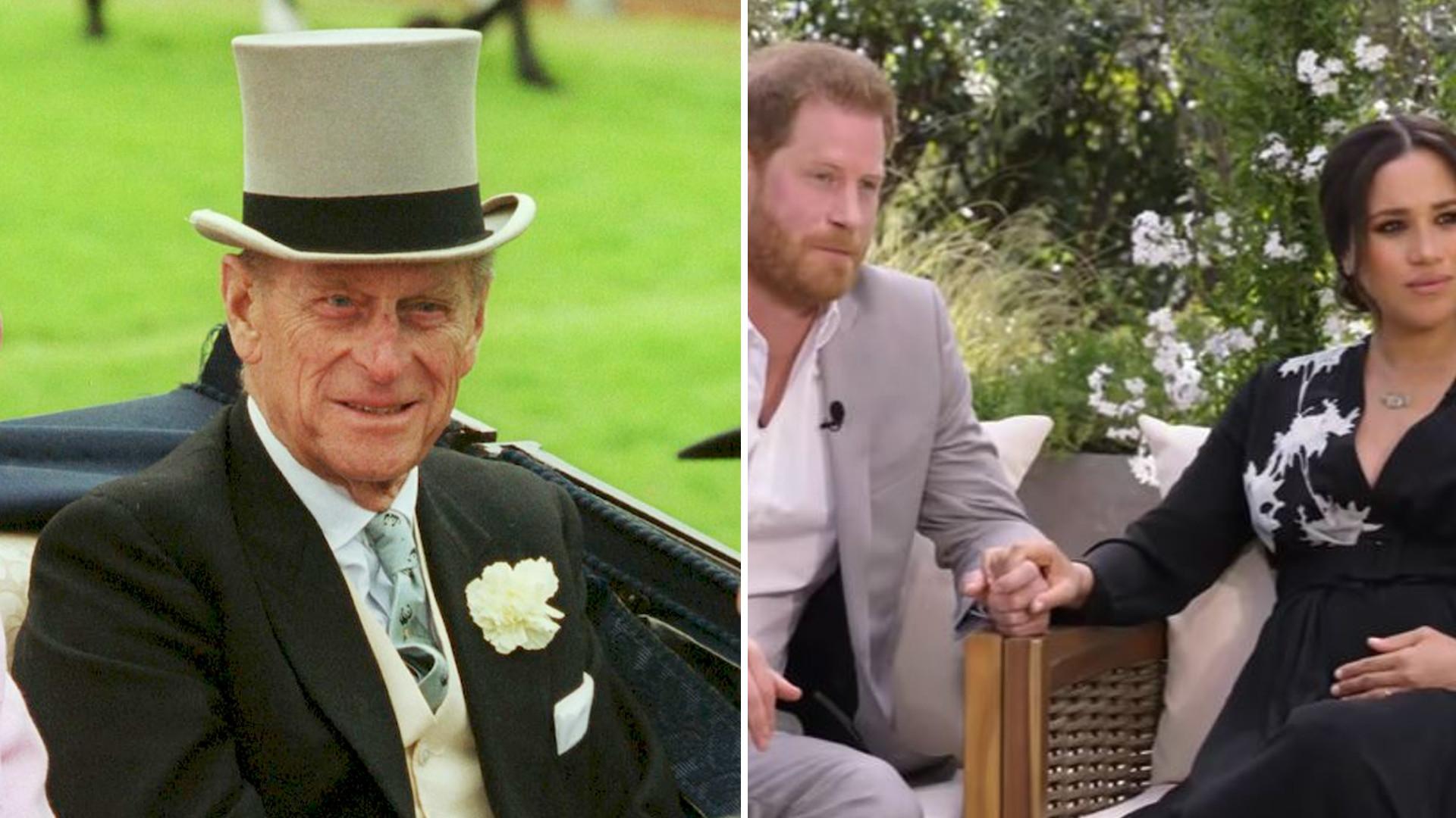 Książę Filip przed śmiercią zareagował na wywiad Meghan i Harry'ego. Co powiedział?