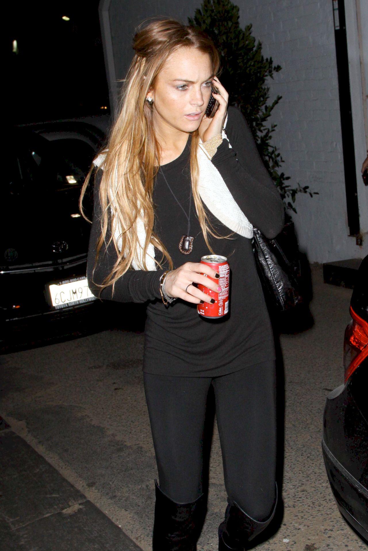 Lindsay Lohan w 2008 roku