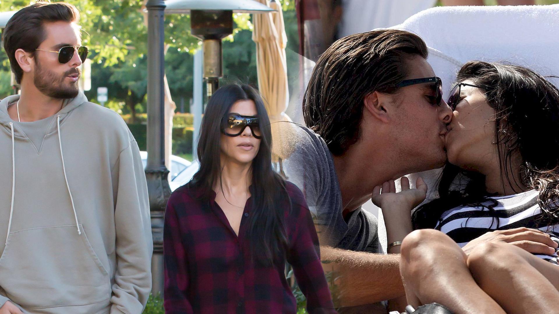 Scott Disick mówi do Kourtney Kardashian, że ją KOCHA