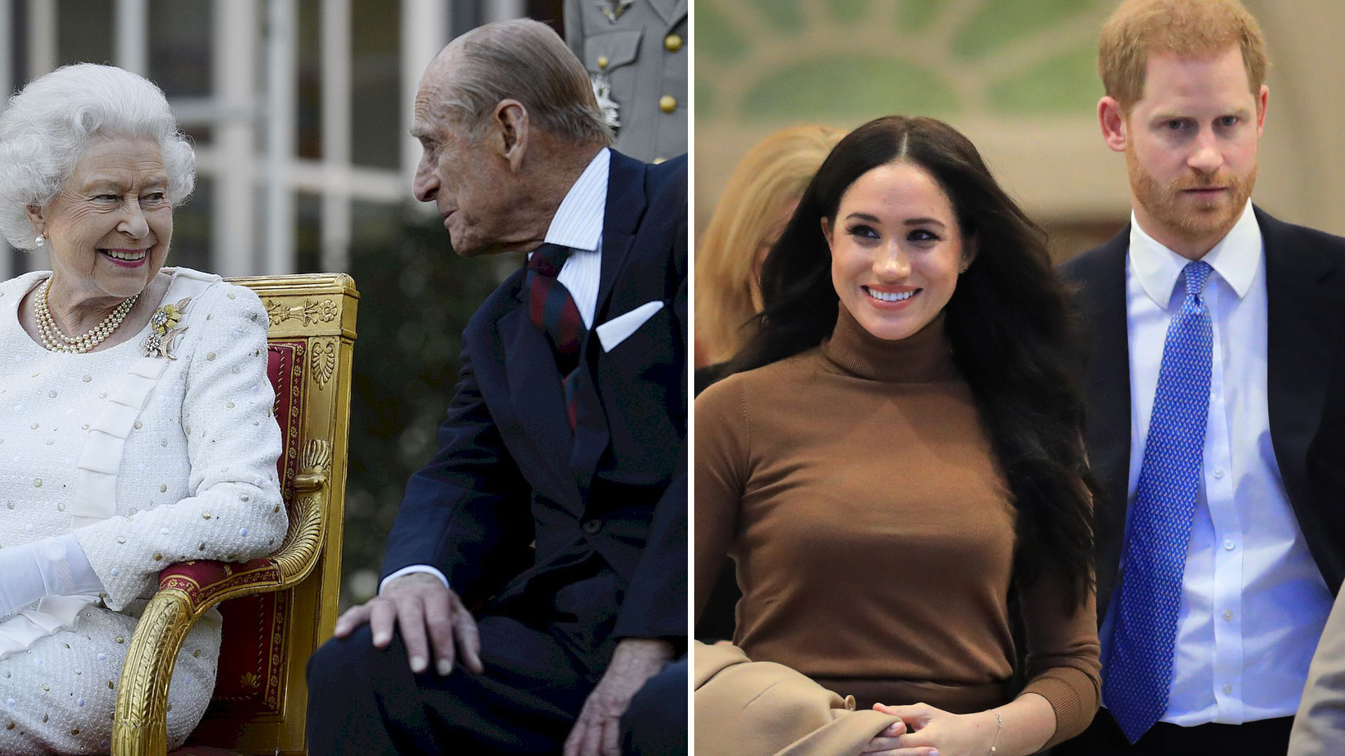 Rodzina królewska poprzez zdjęcia pokazała, jaki ma stosunek do Meghan i Harry'ego