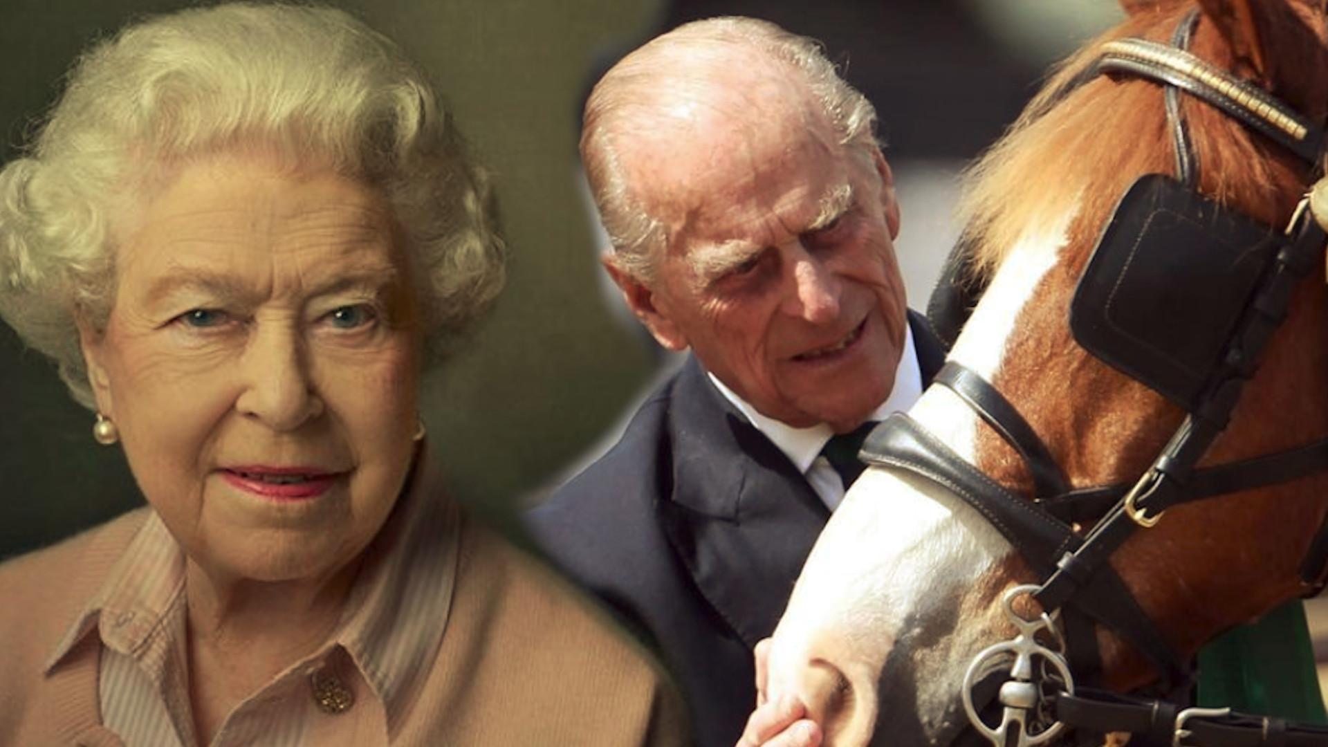 Na prośbę samej Królowej, pokazano bardzo prywatne zdjęcie księcia Filipa