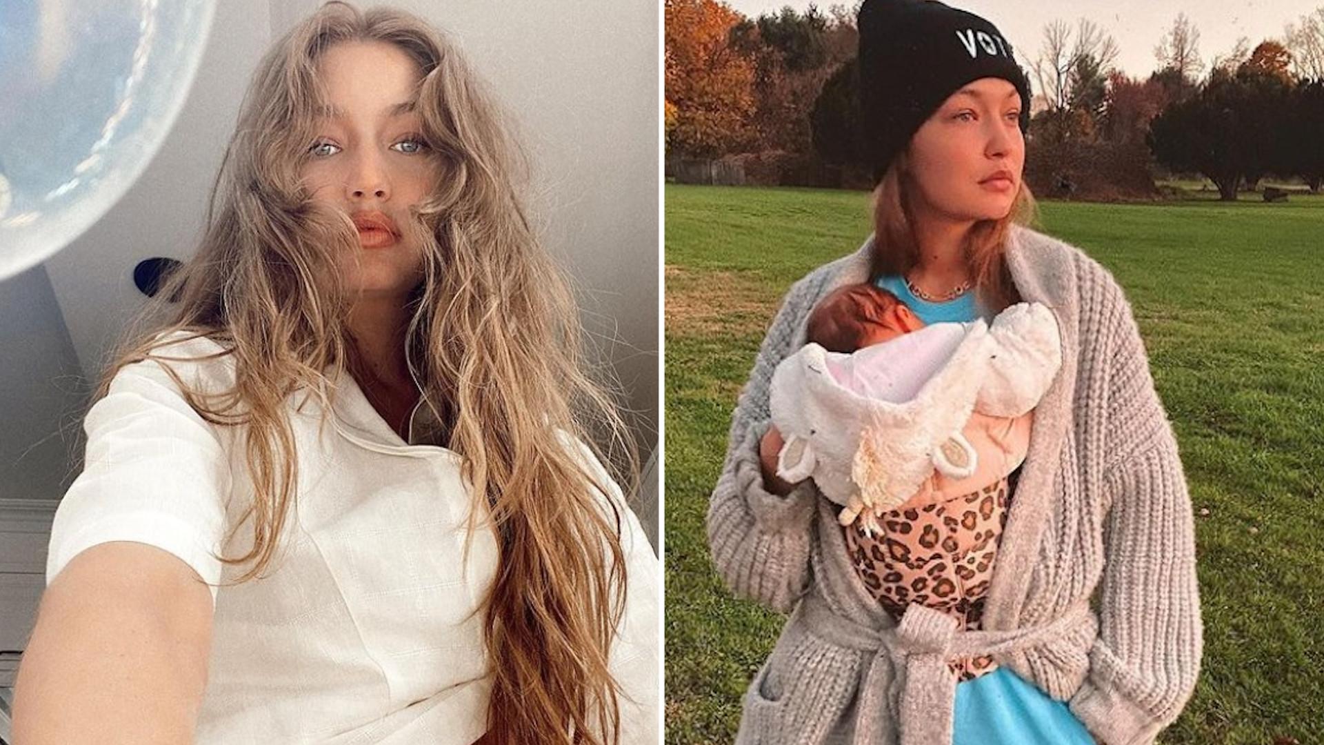 """Gigi Hadid pokazała córkę na Instagramie: """"Nie mogę uwierzyć w to, że moje dziecko ma siedem miesięcy"""""""