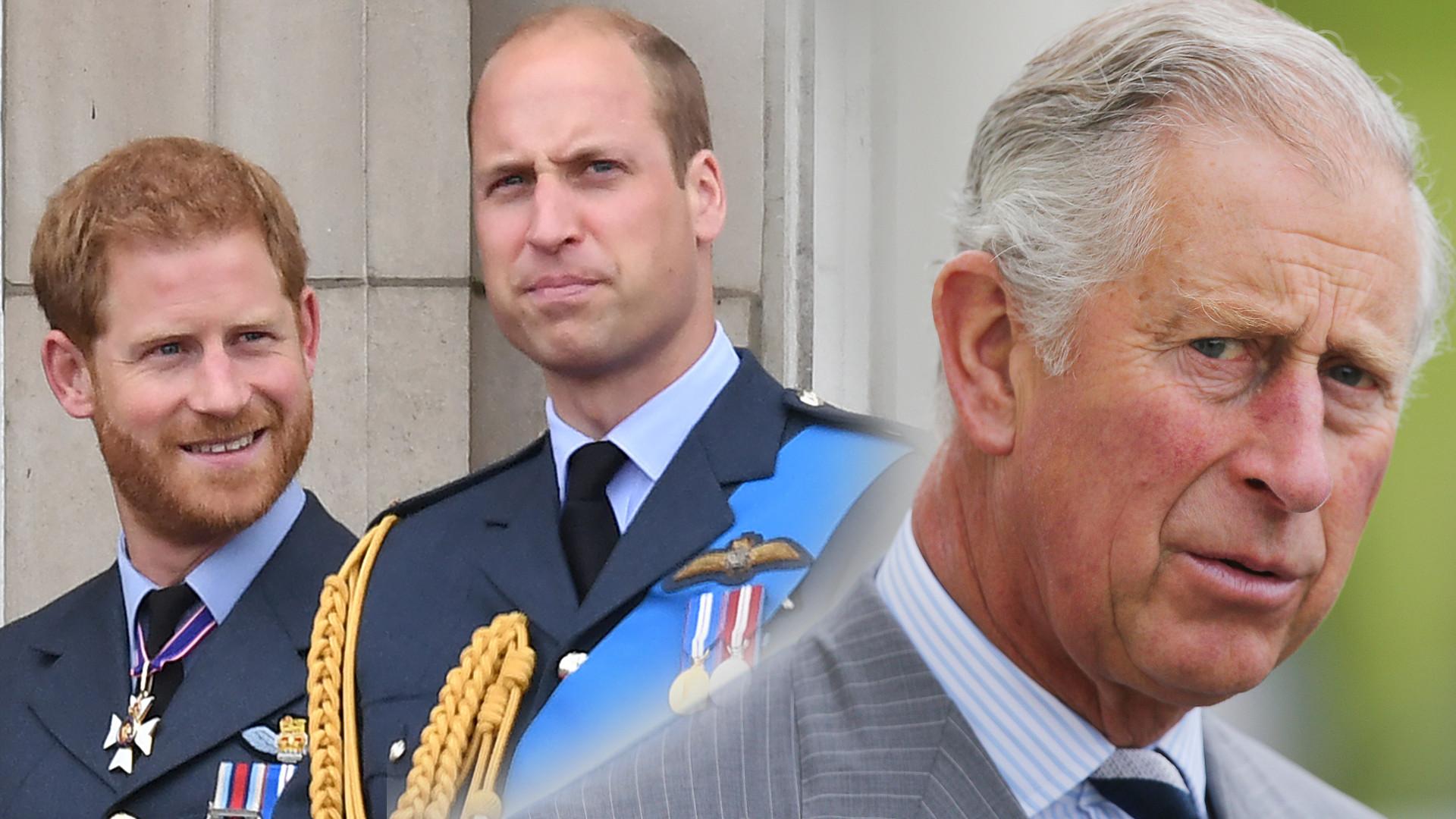Książę Harry POKŁÓCIŁ się z ojcem i bratem przed wylotem? Szokujące doniesienia