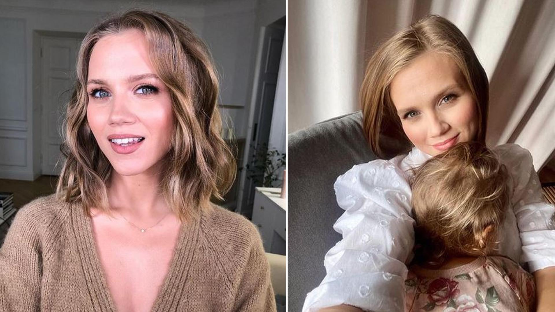 Agnieszka Kaczorowska pokazała zdjęcia z sesji ciążowej z córką. Są ubrane tak samo