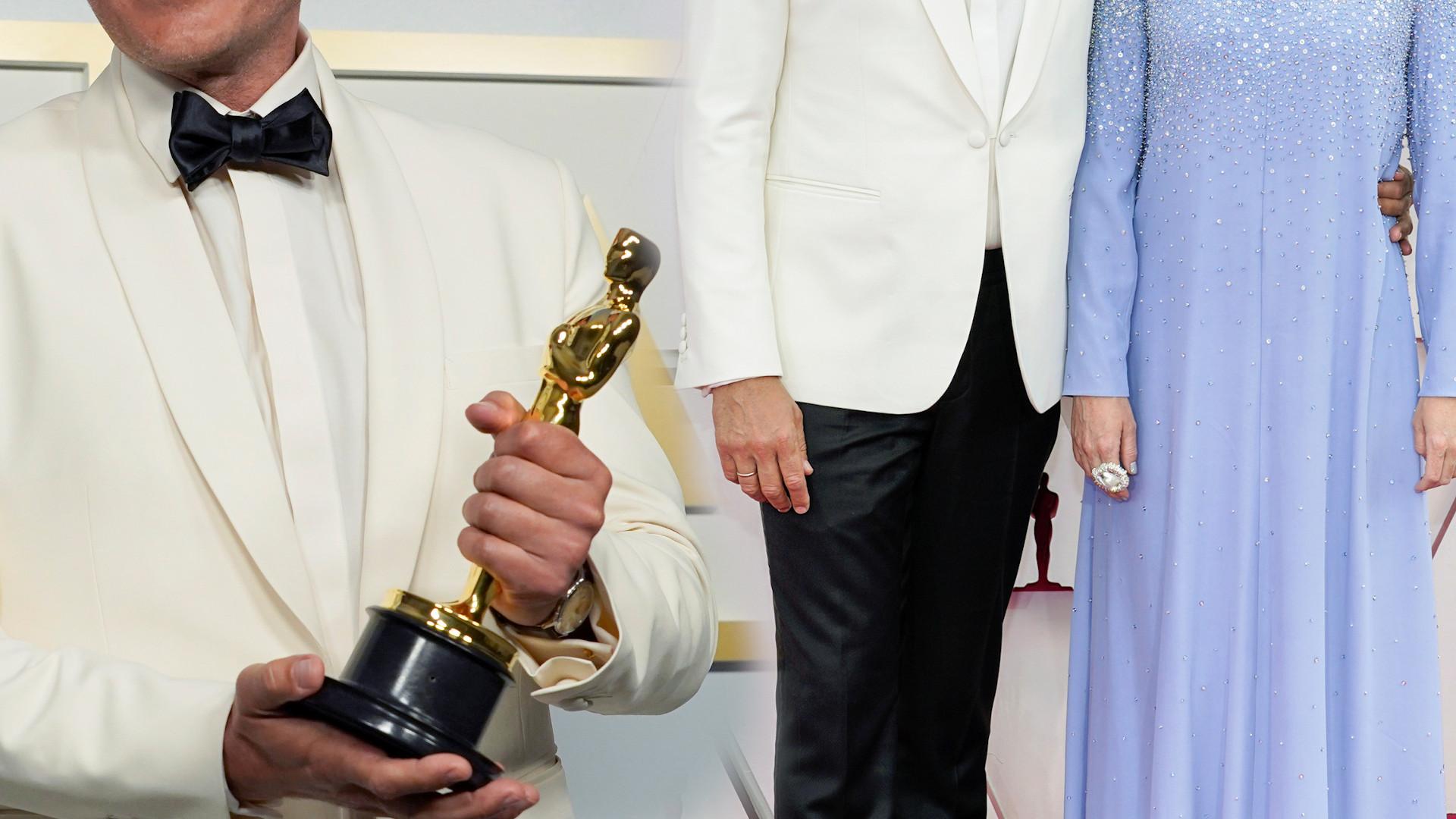 Oscary 2021. Odbierając statuetkę WYBUCHNĄŁ PŁACZEM