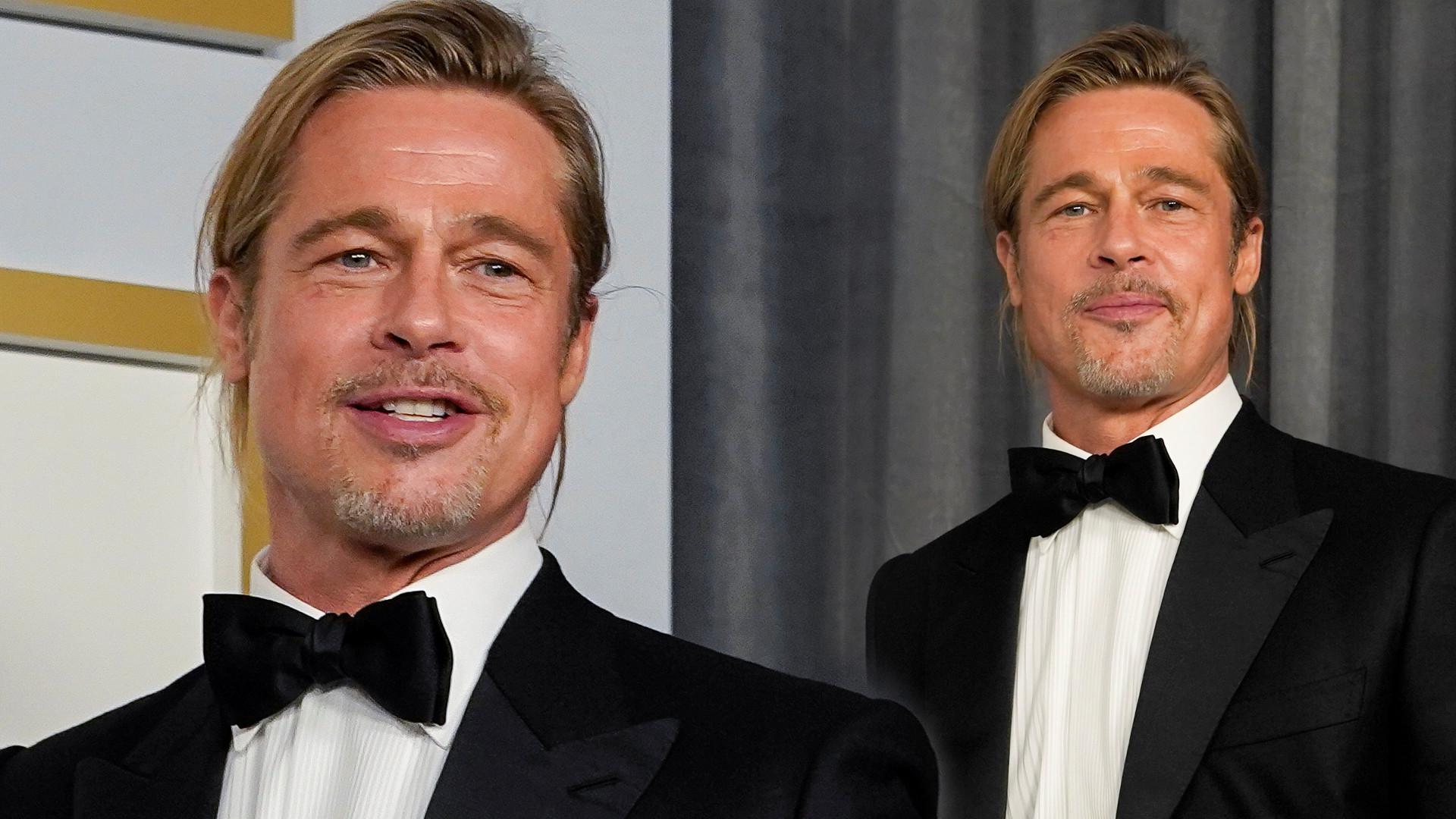 Oscary 2021: Brad Pitt zaliczył WTOPĘ. Mina aktorki mówi wszystko