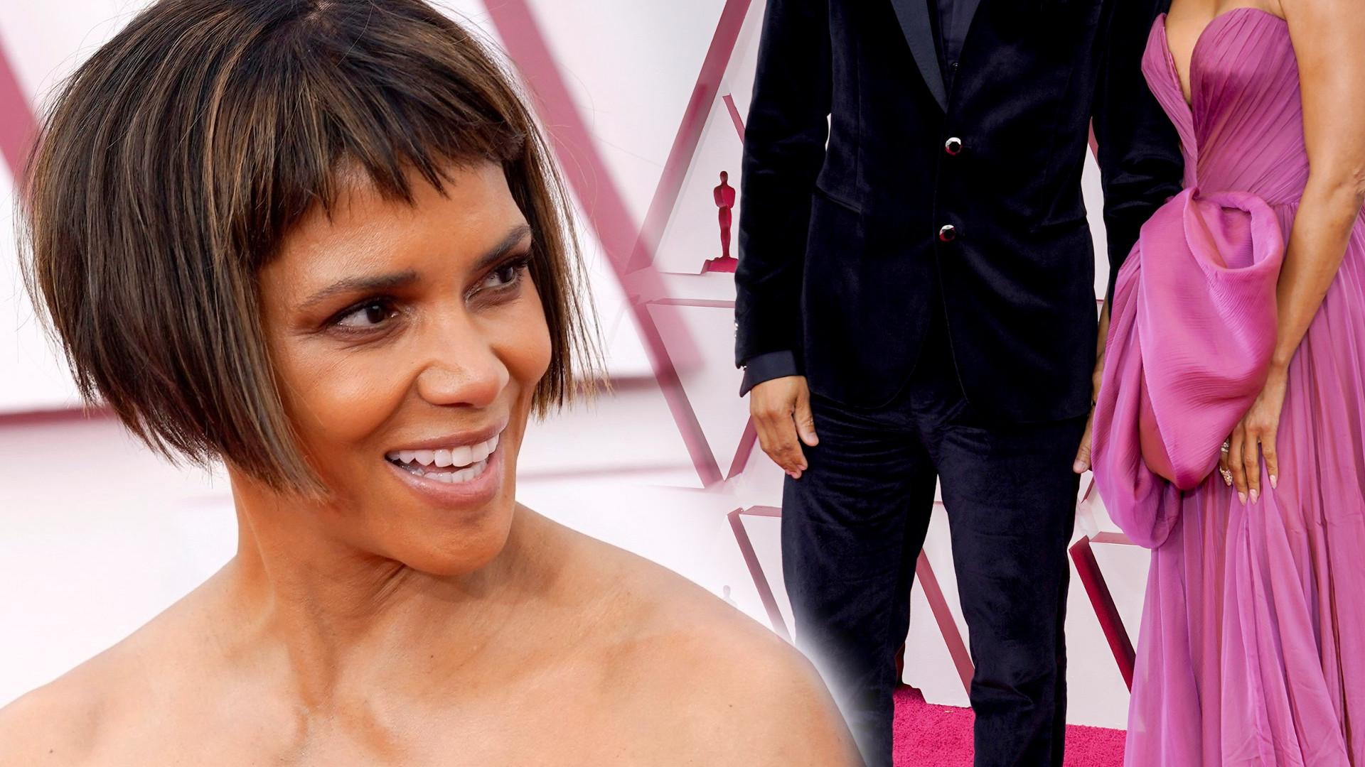 Halle Berry zaprezentowała na Oscarach nie tylko nową fryzurę, ale również PARTNERA